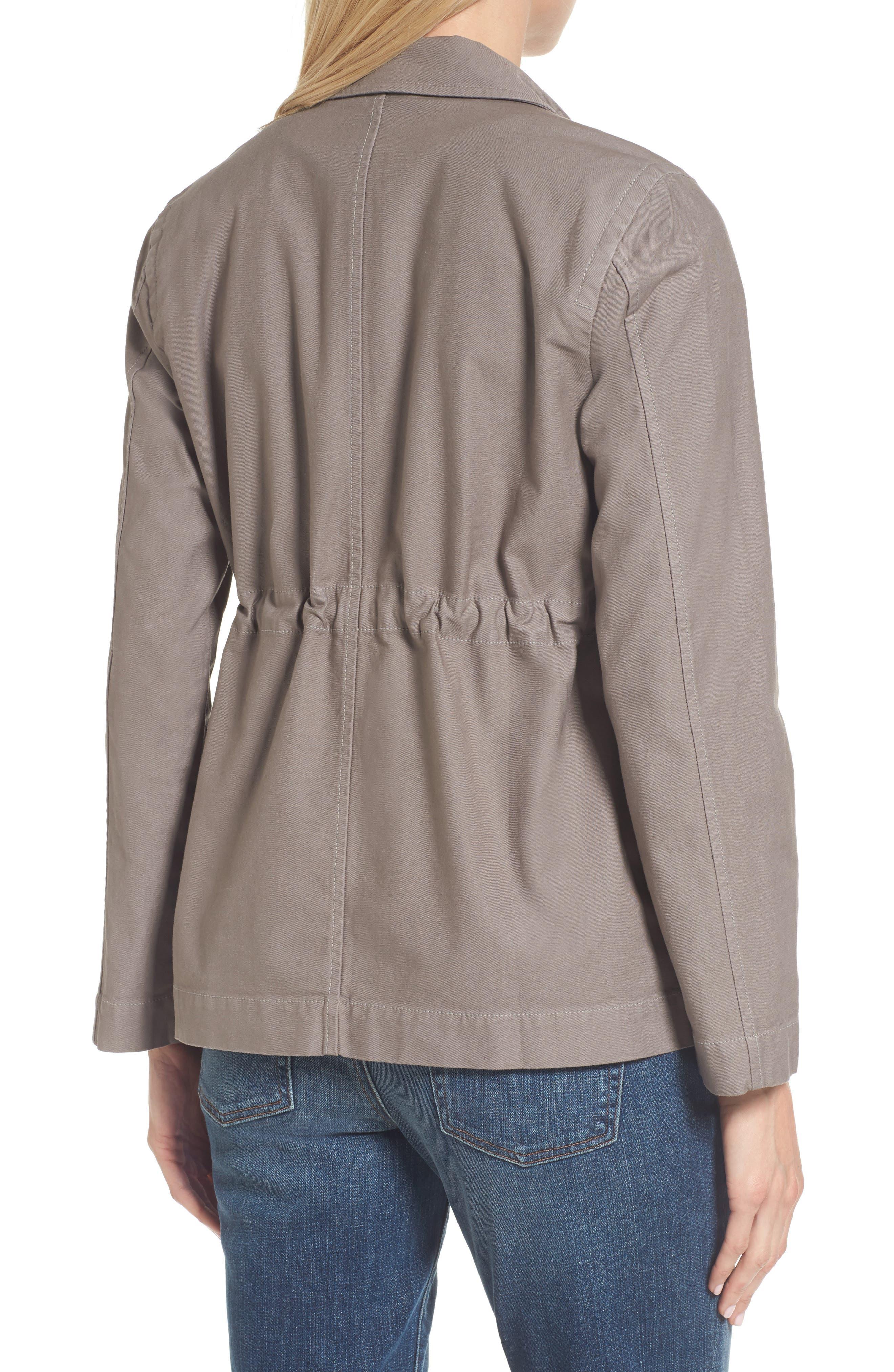 Alternate Image 2  - Eileen Fisher Twill Utility Jacket