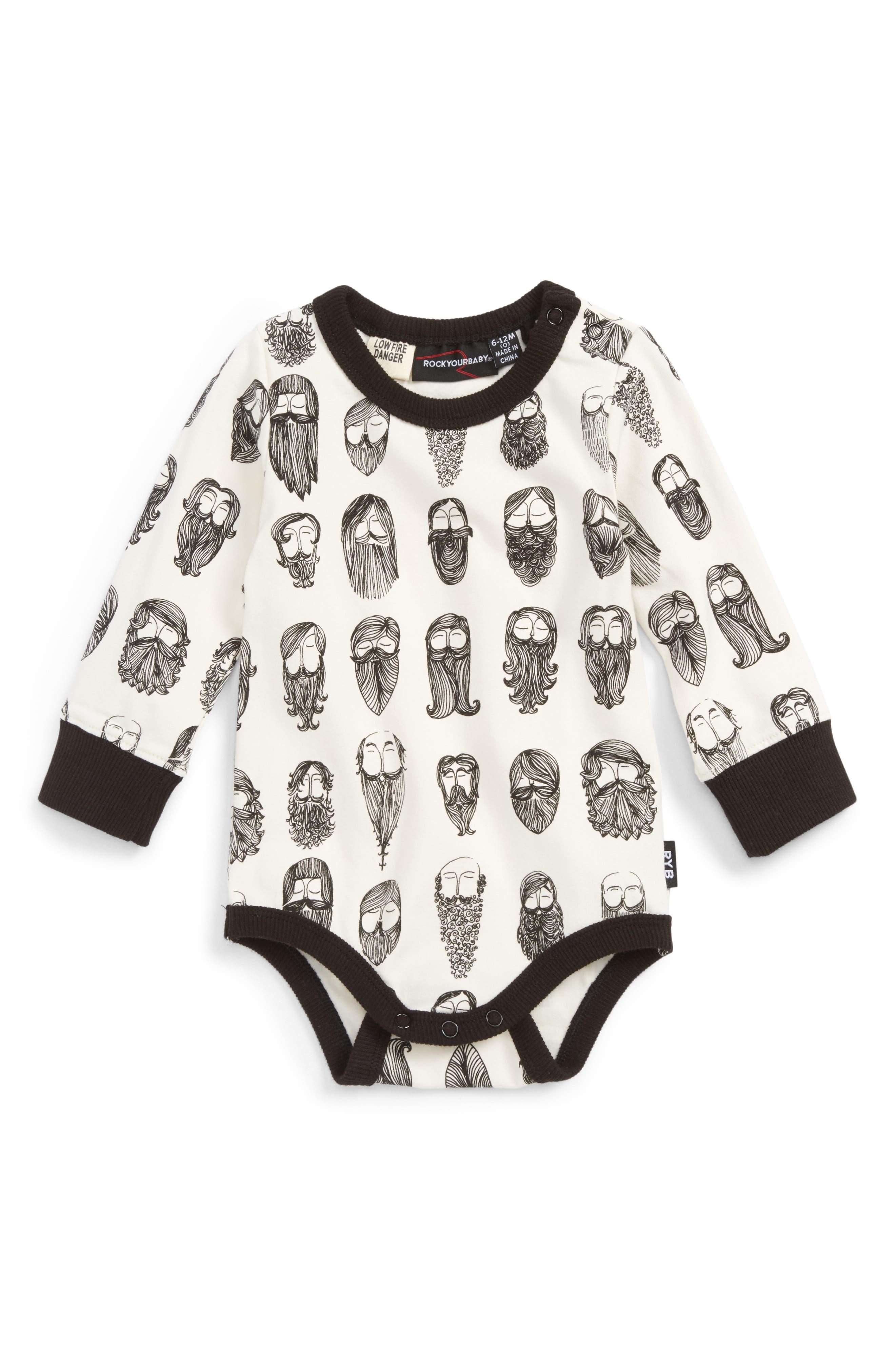 Main Image - Rock Your Baby Billyburg Bodysuit (Baby Boys)