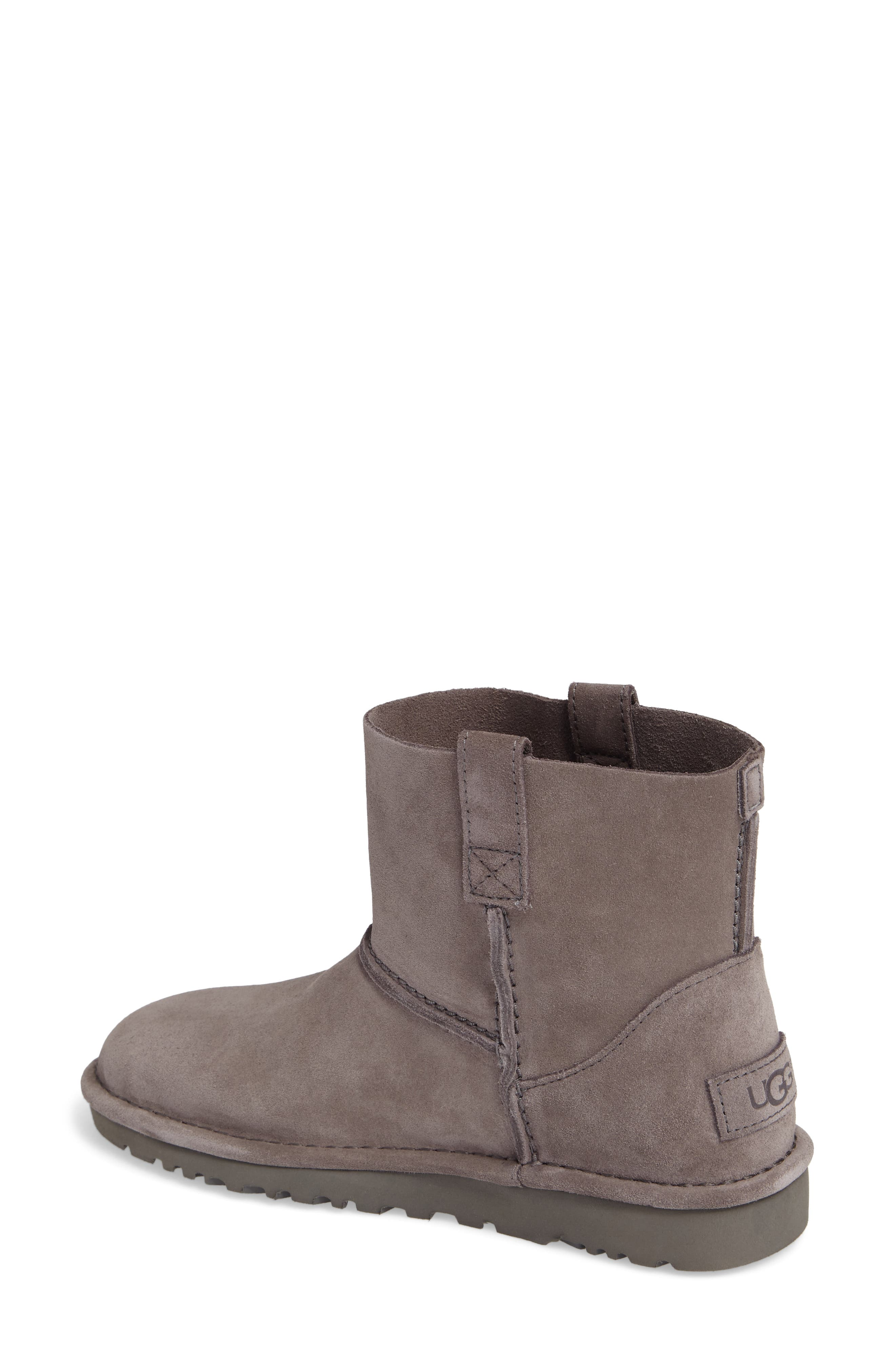 Alternate Image 2  - UGG® Classic Unlined Mini Boot (Women)