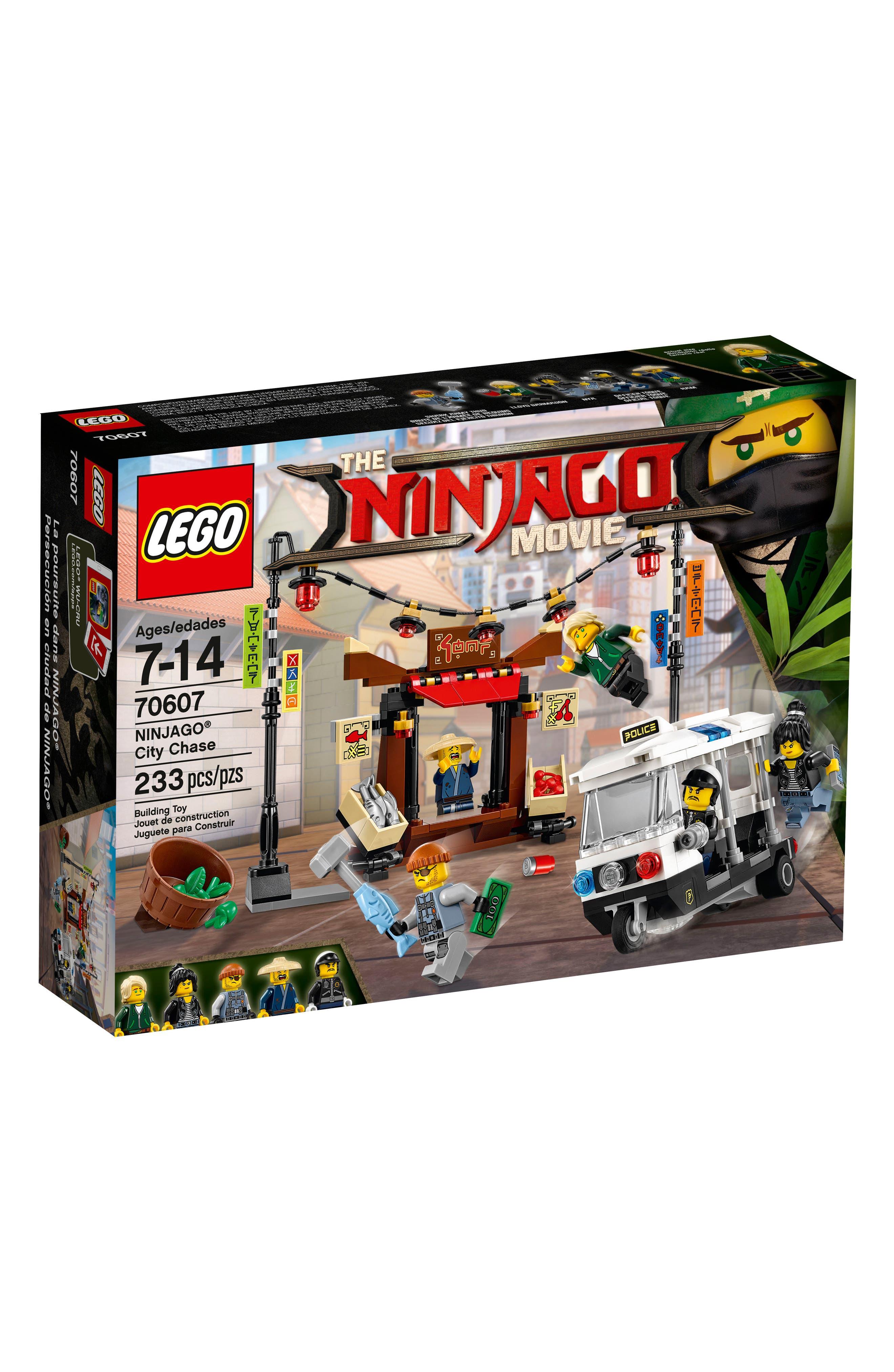 NINJAGO<sup>®</sup> City Chase Play Set - 70607,                             Main thumbnail 1, color,                             Multi
