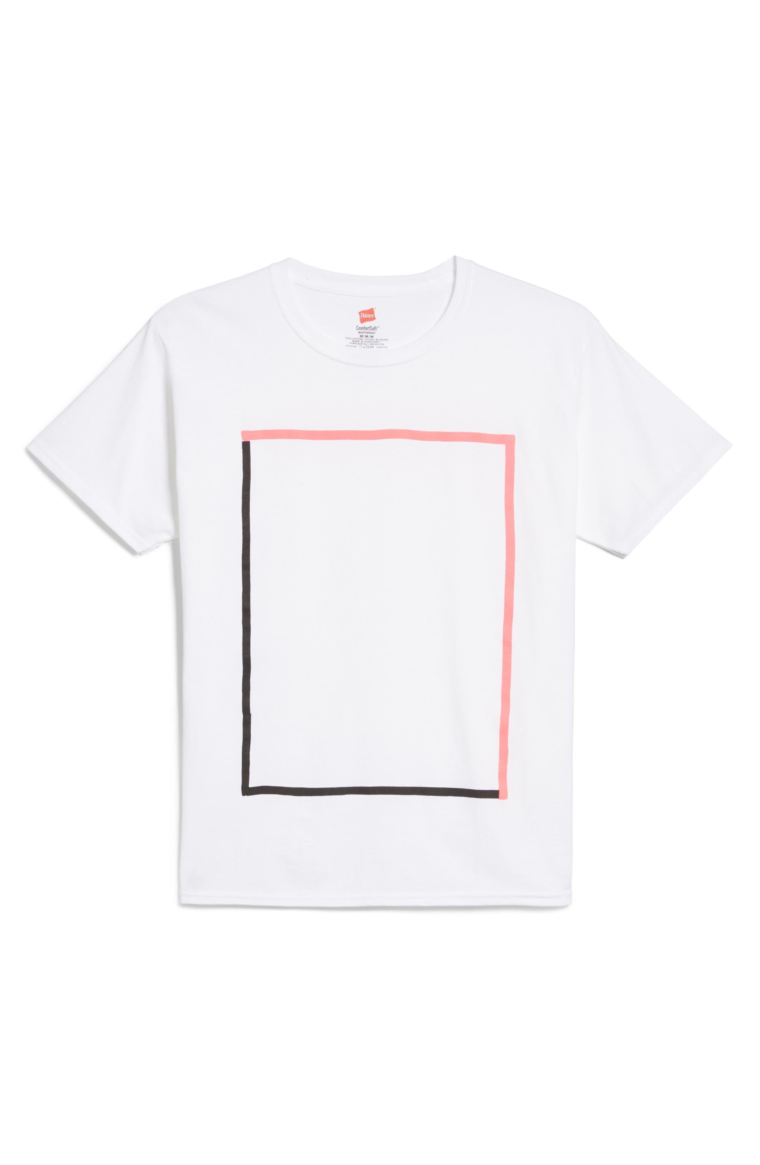 HANES KRINK Box T-Shirt
