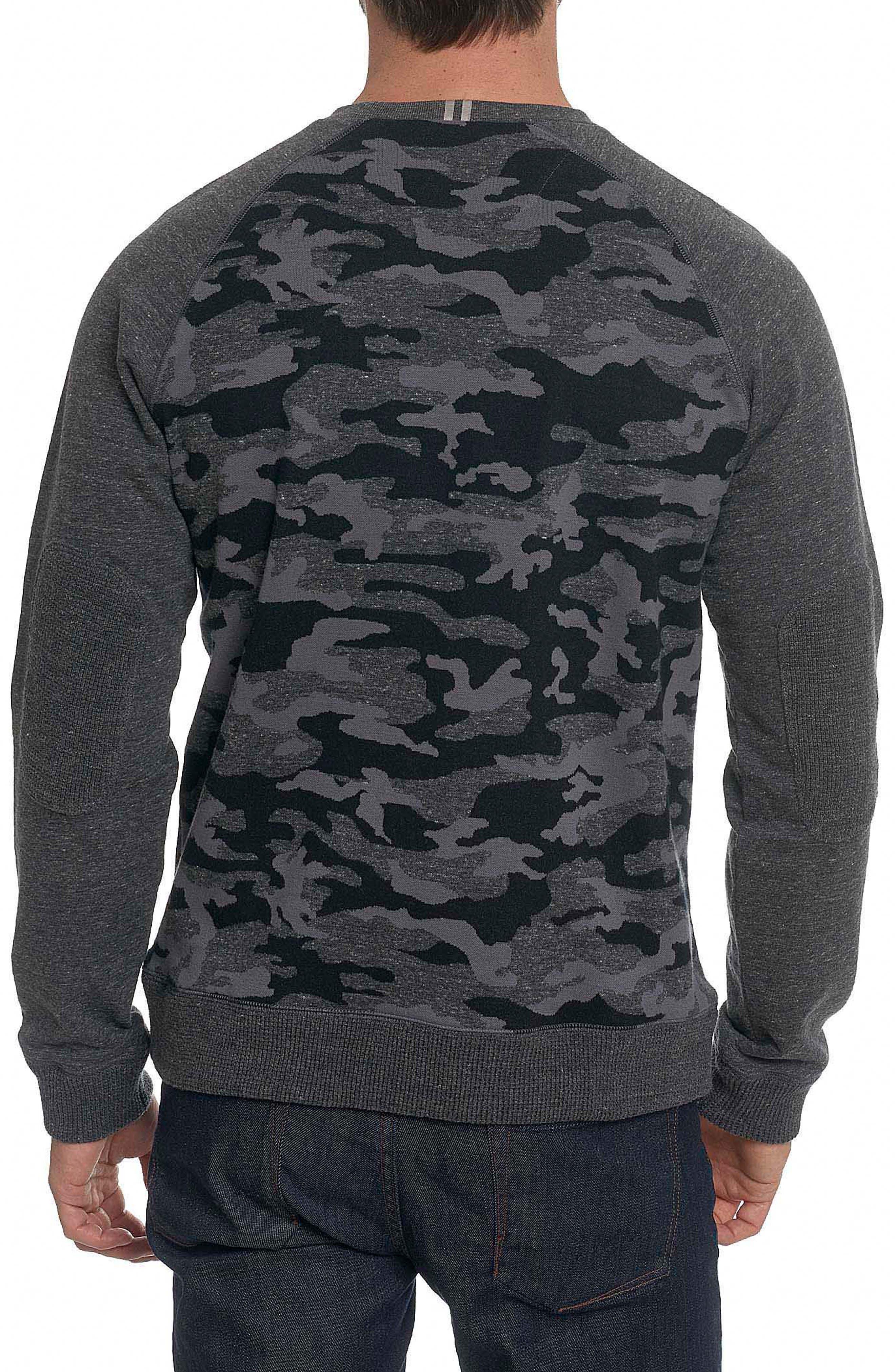 Alternate Image 2  - Robert Graham Mooers Camo Raglan Sleeve Shirt