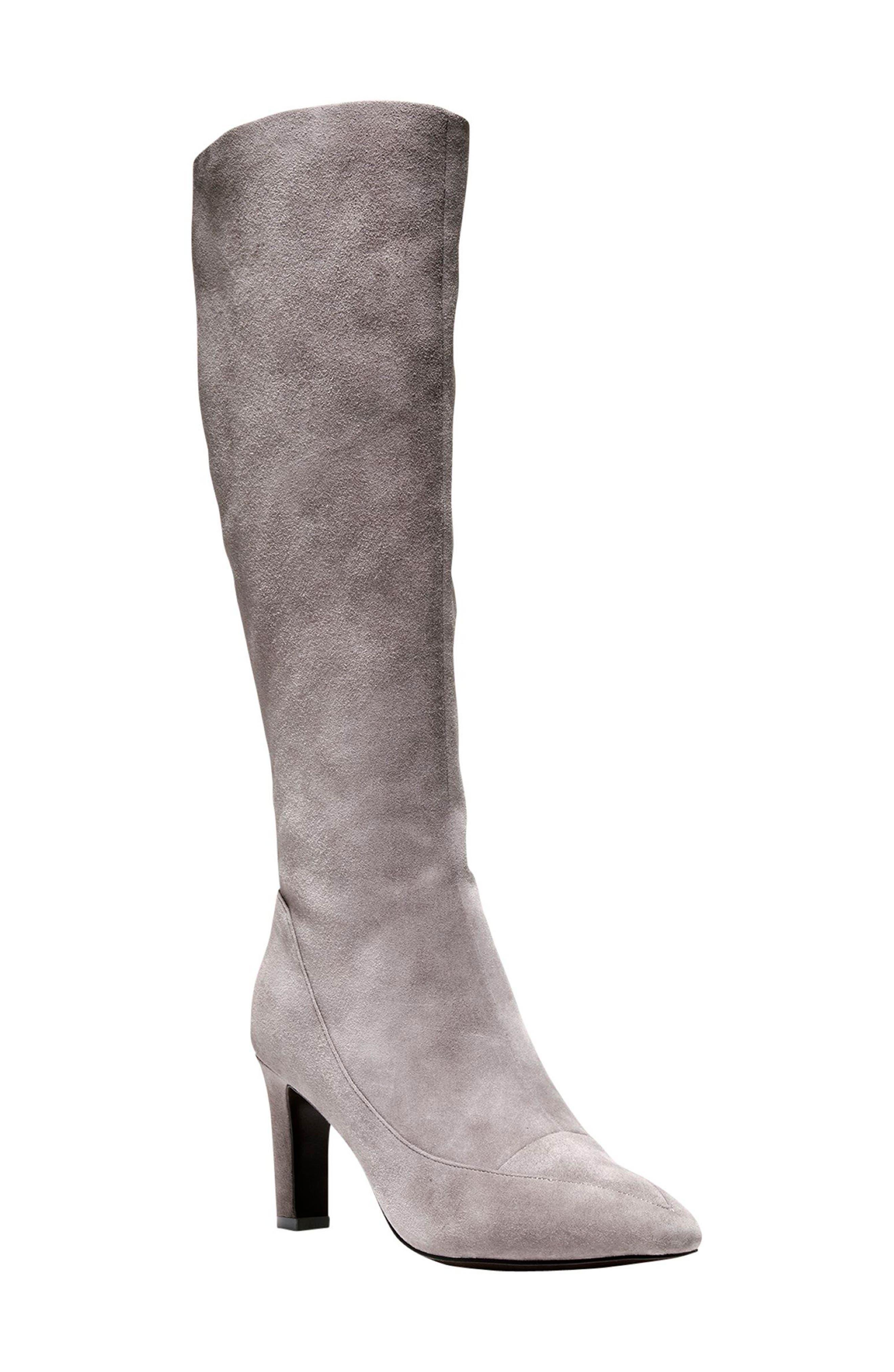 Cole Haan Arlean Pointy Toe Tall Boot (Women)