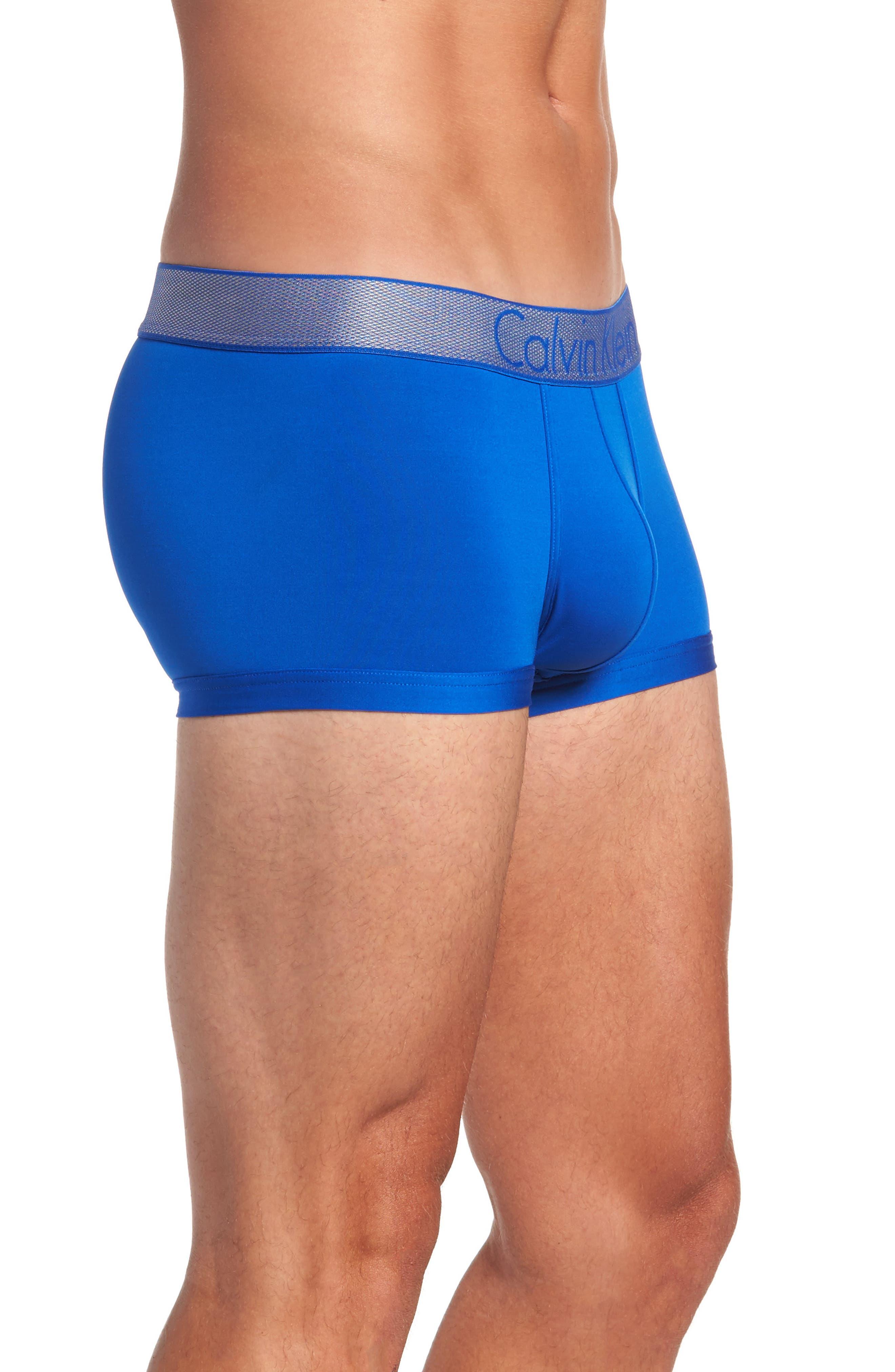 Alternate Image 3  - Calvin Klein Customized Stretch Low Rise Trunks