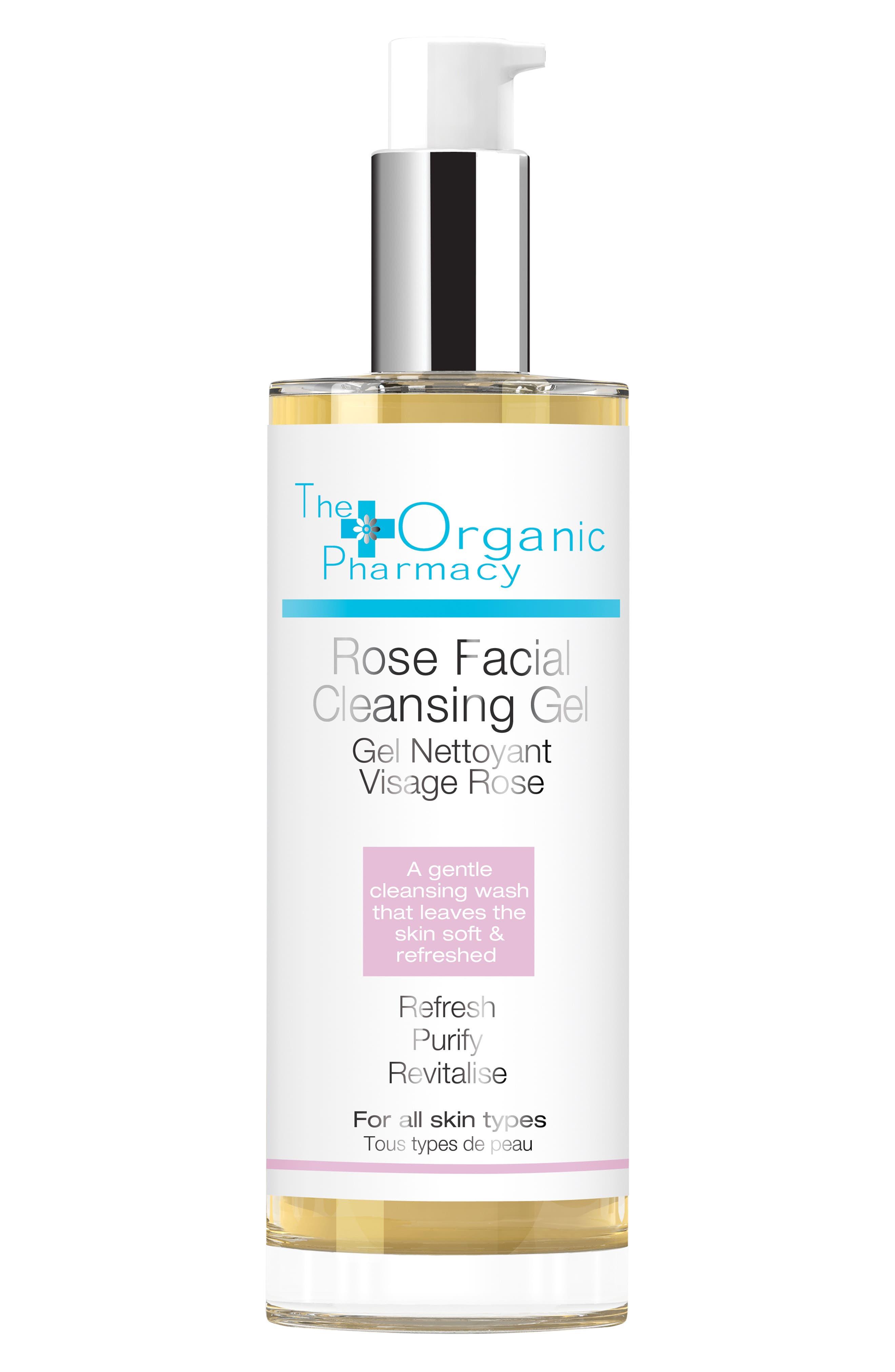 Main Image - The Organic Pharmacy Rose Facial Cleansing Gel
