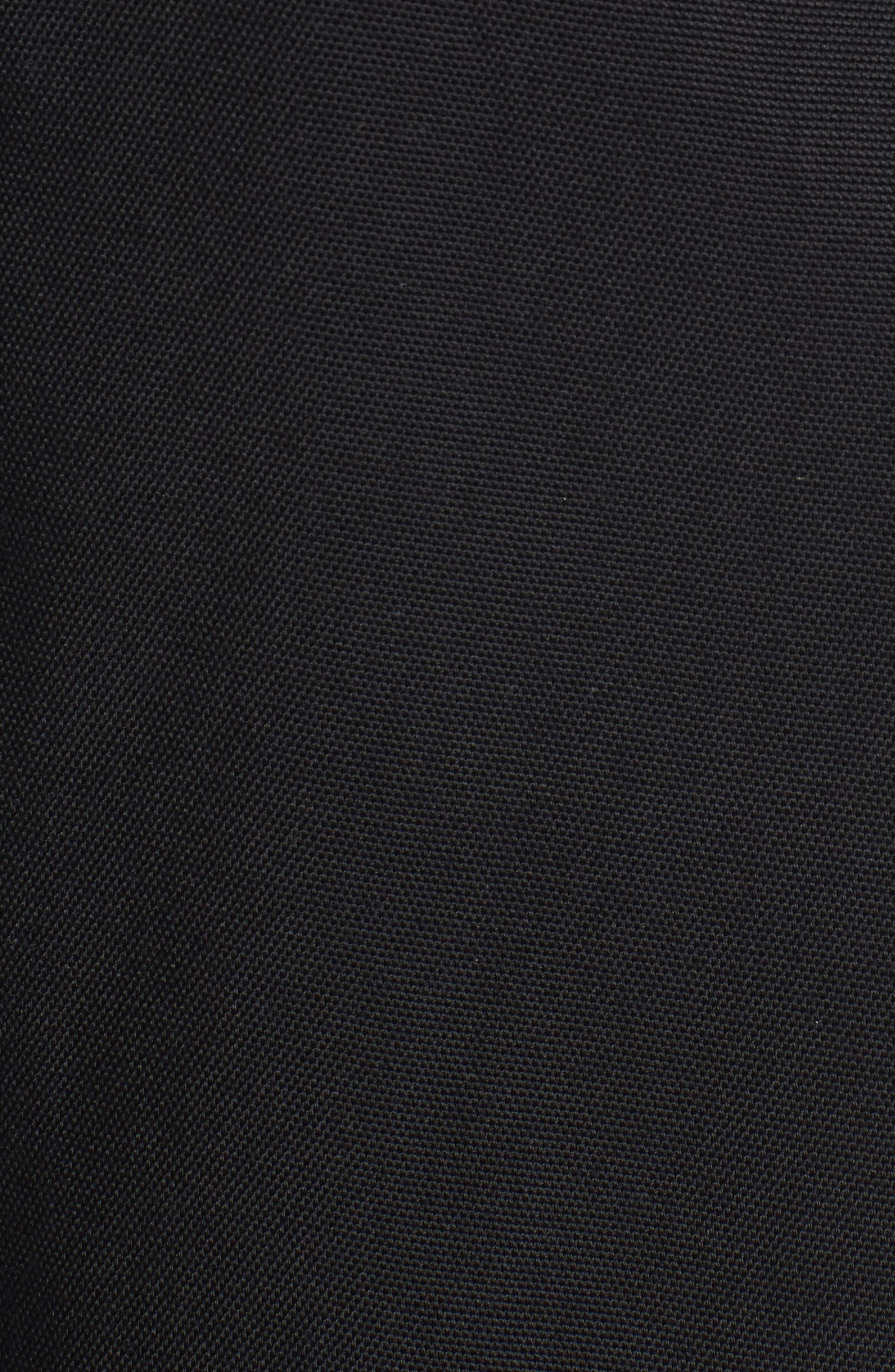 Ruffle Blazer,                             Alternate thumbnail 5, color,                             Black