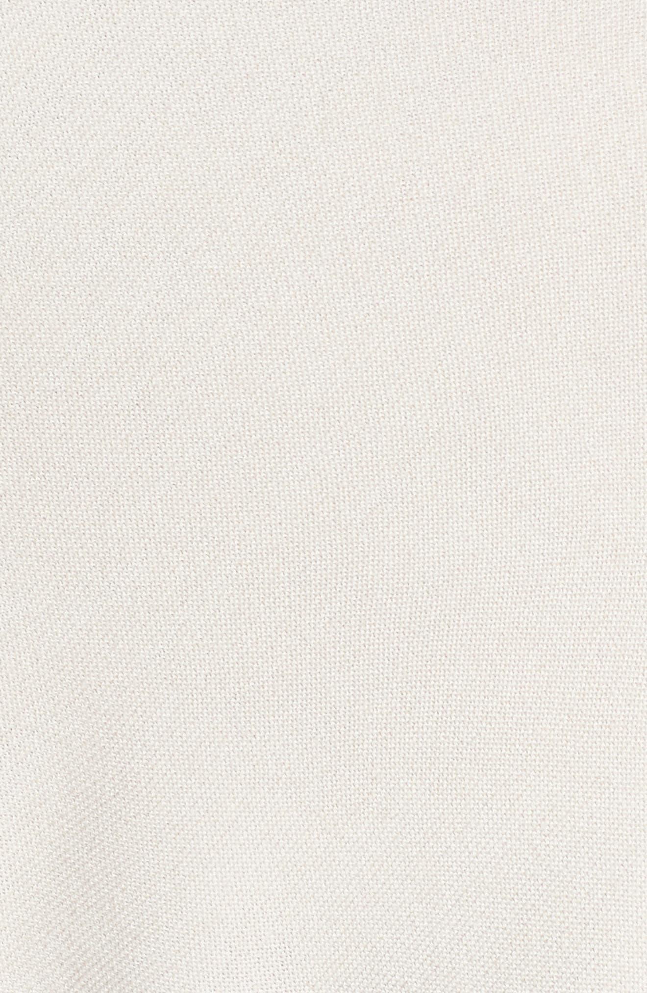 Wool Blend Knit Vest,                             Alternate thumbnail 5, color,                             Light Grey