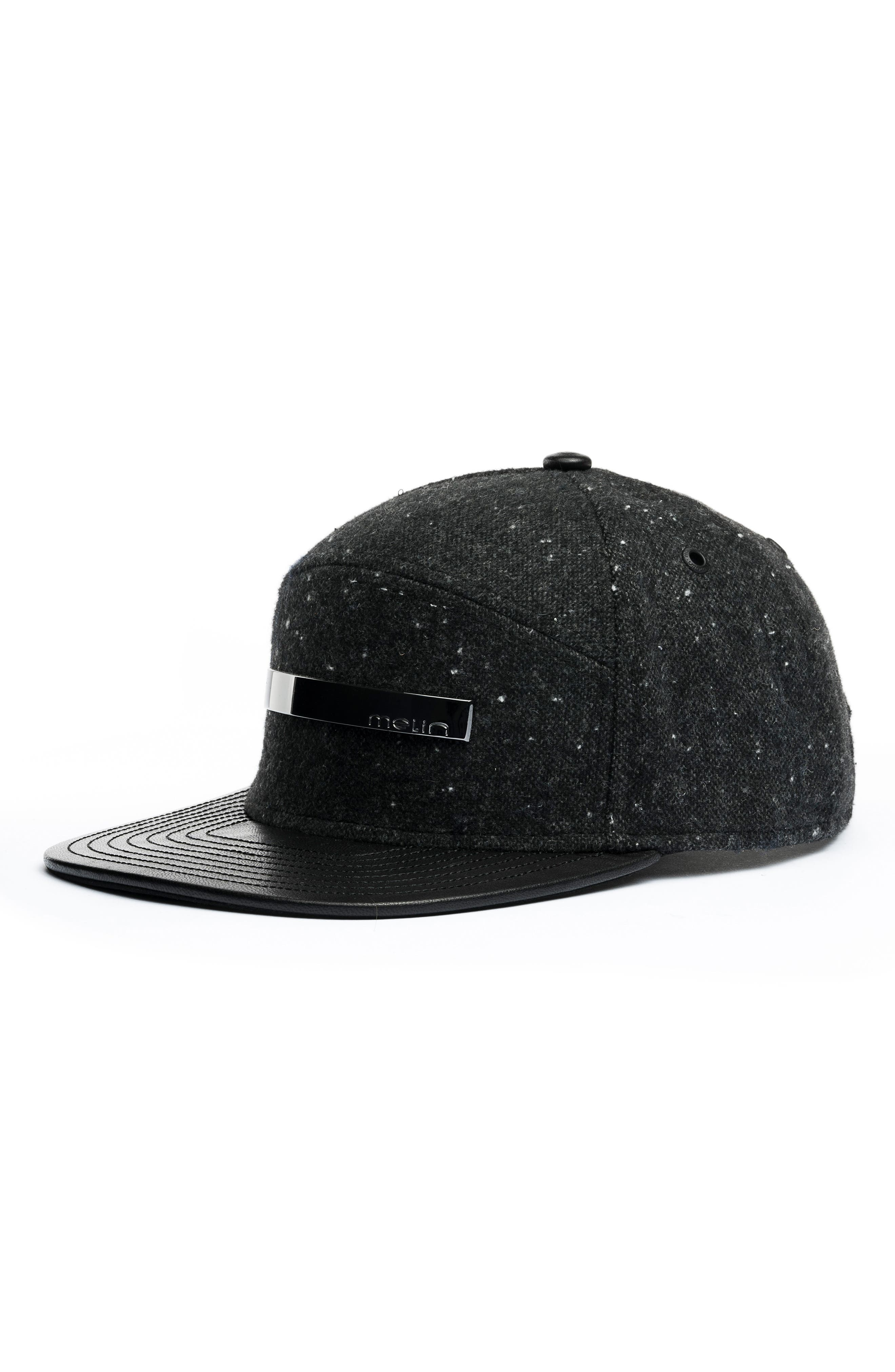 The Bar Baseball Cap,                             Main thumbnail 1, color,                             Dark Charcoal