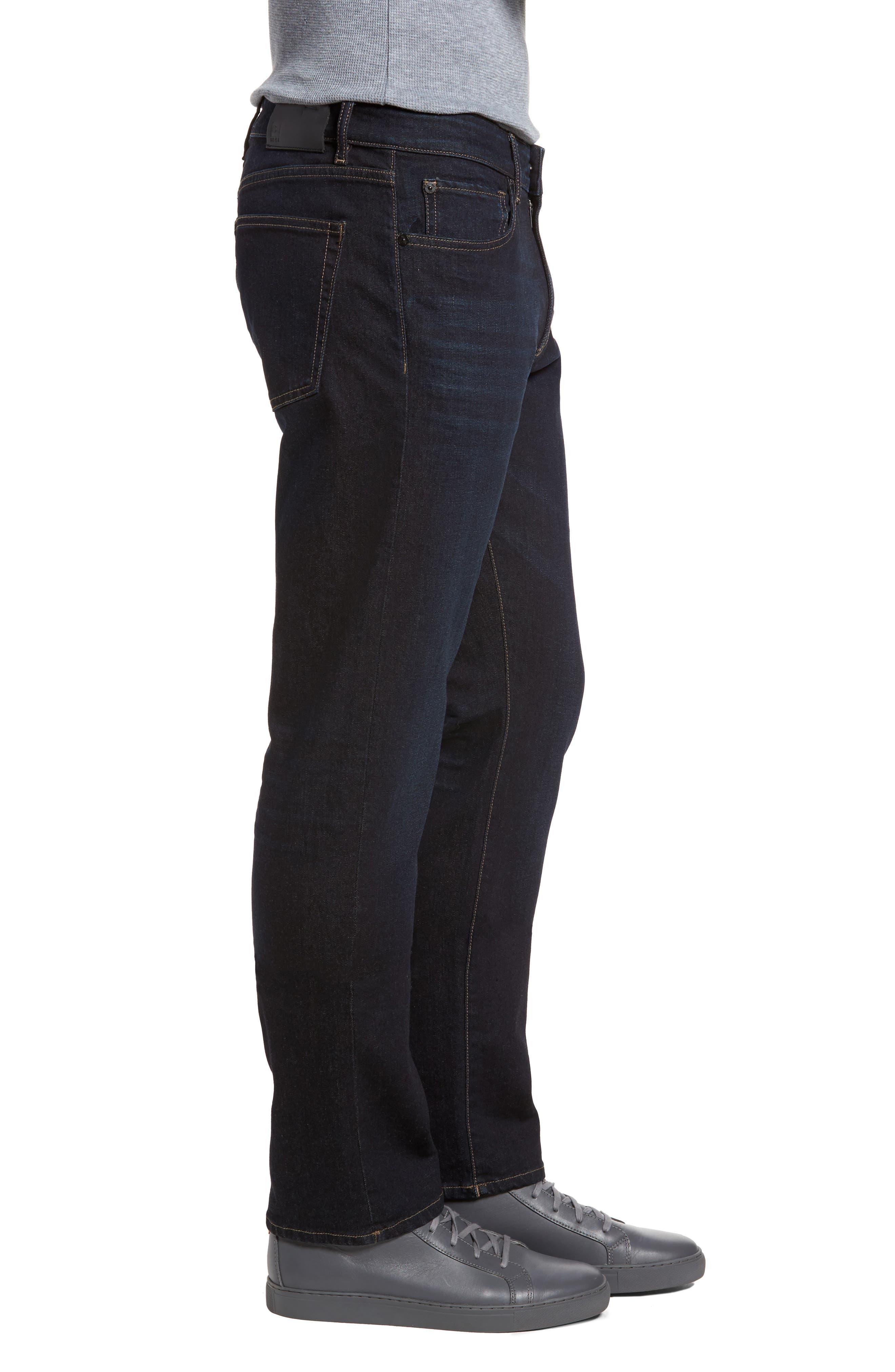 Russell Slim Straight Leg Jeans,                             Alternate thumbnail 3, color,                             Forte