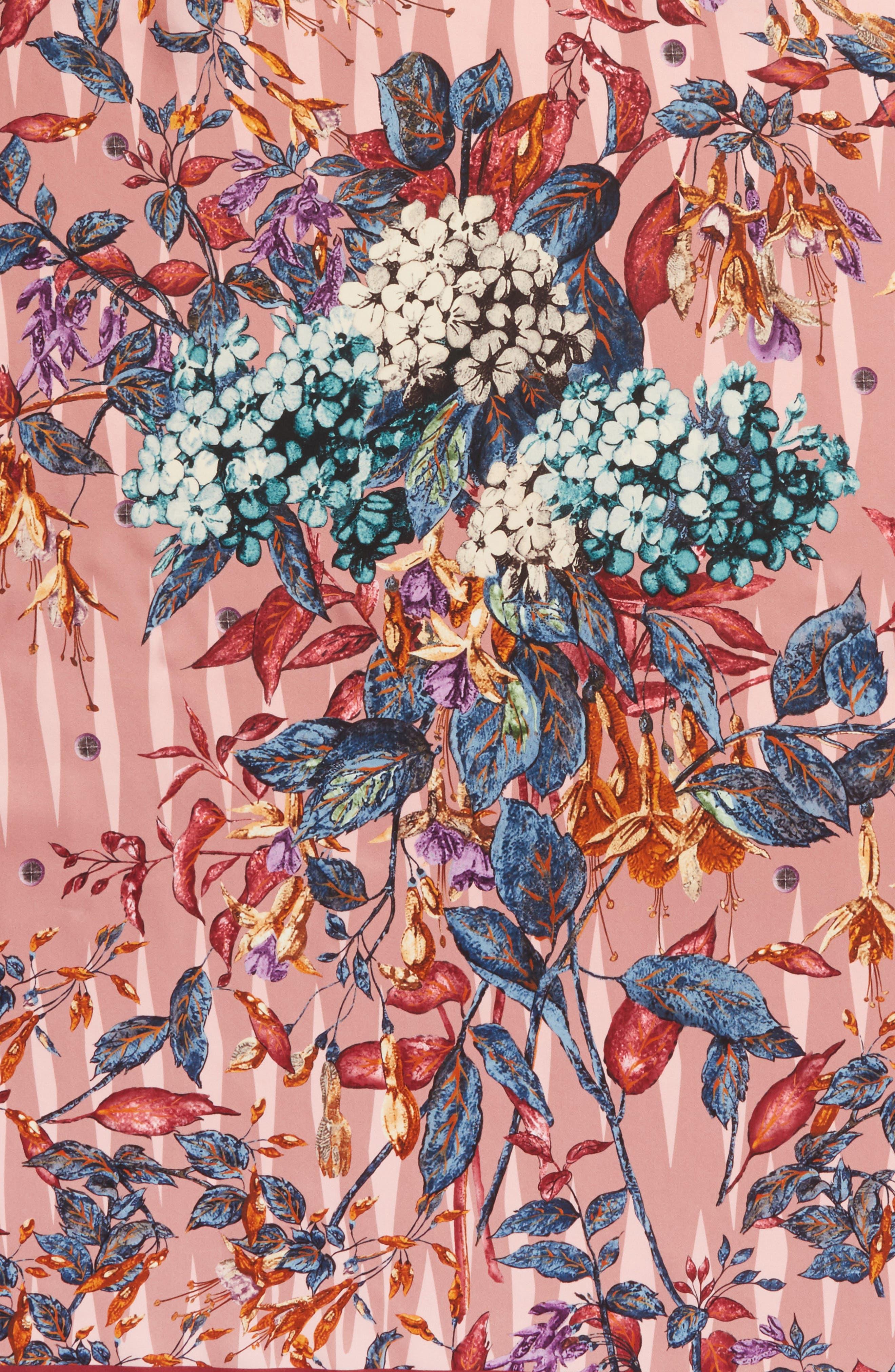 Alternate Image 4  - MANTERO Tra le Righe Square Silk Scarf