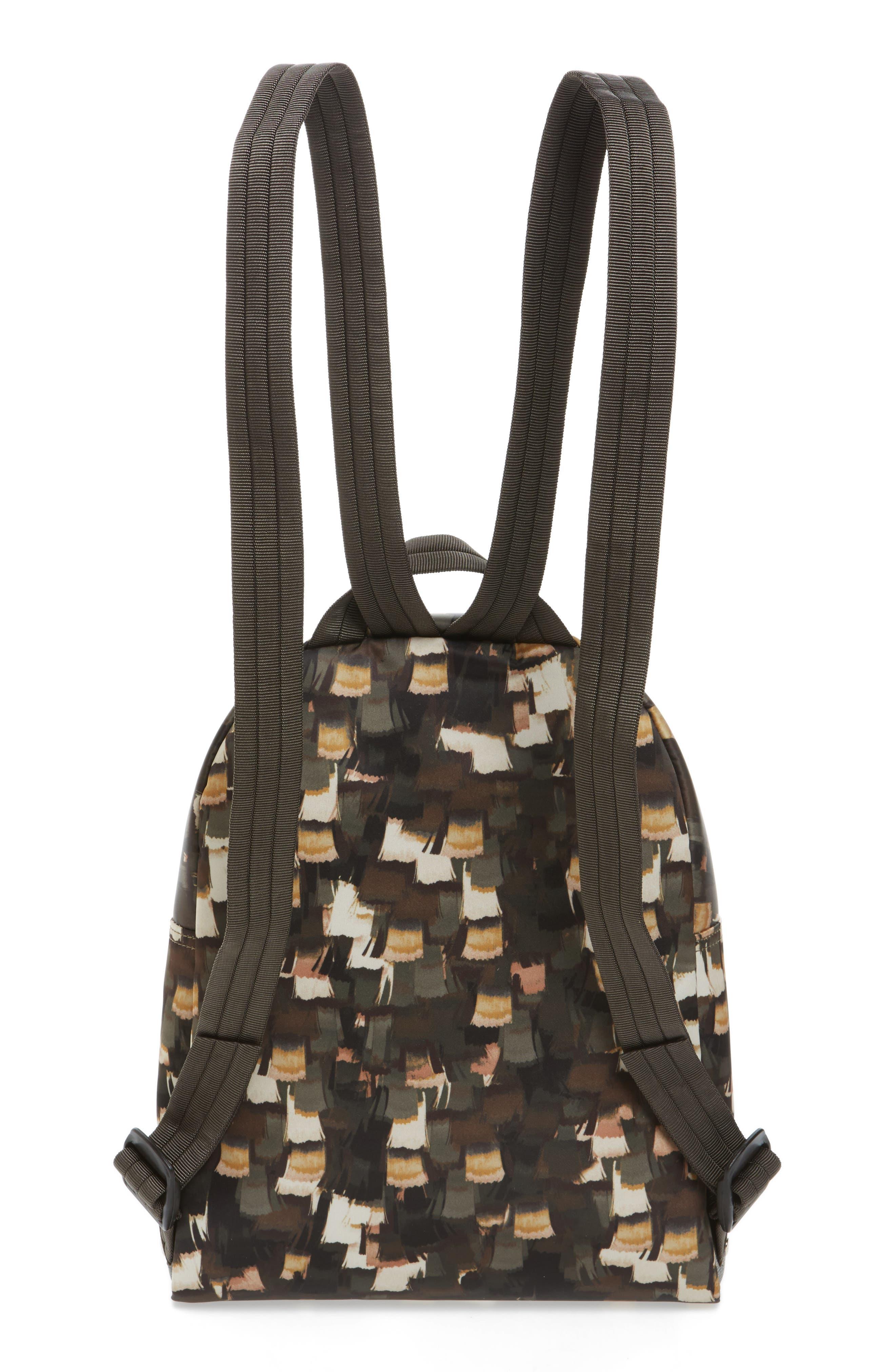 Le Pliage Neo - Vibrations Nylon Backpack,                             Alternate thumbnail 2, color,                             Khaki