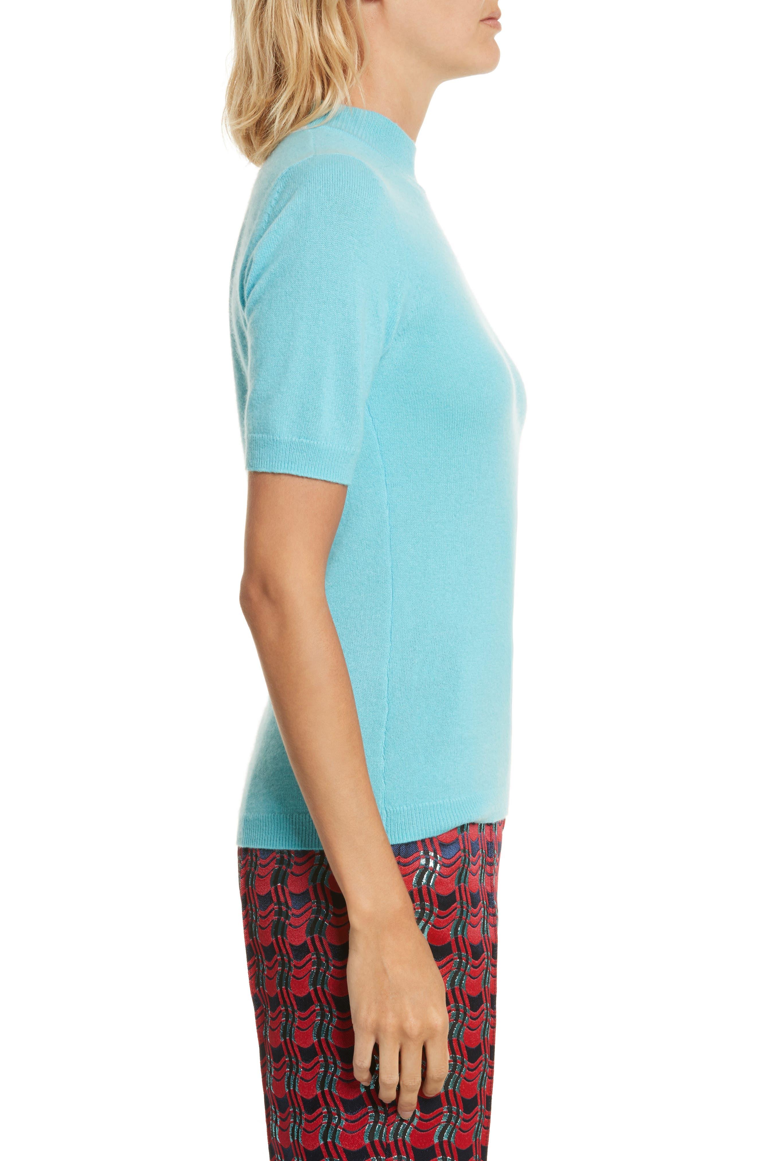 Alternate Image 3  - Diane von Furstenberg Mock Neck Cashmere Sweater