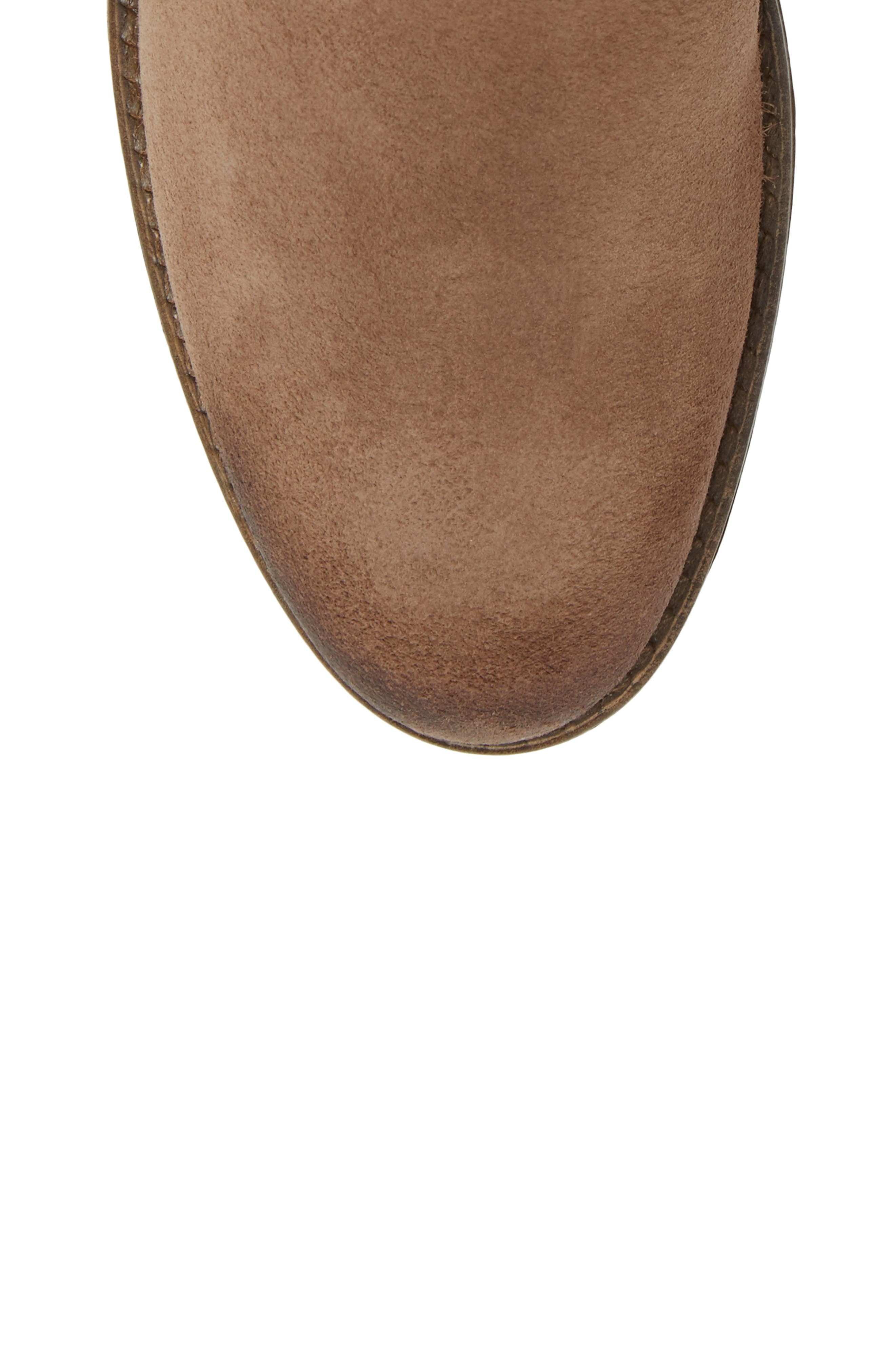 Greenville Waterproof Bootie,                             Alternate thumbnail 4, color,                             Taupe