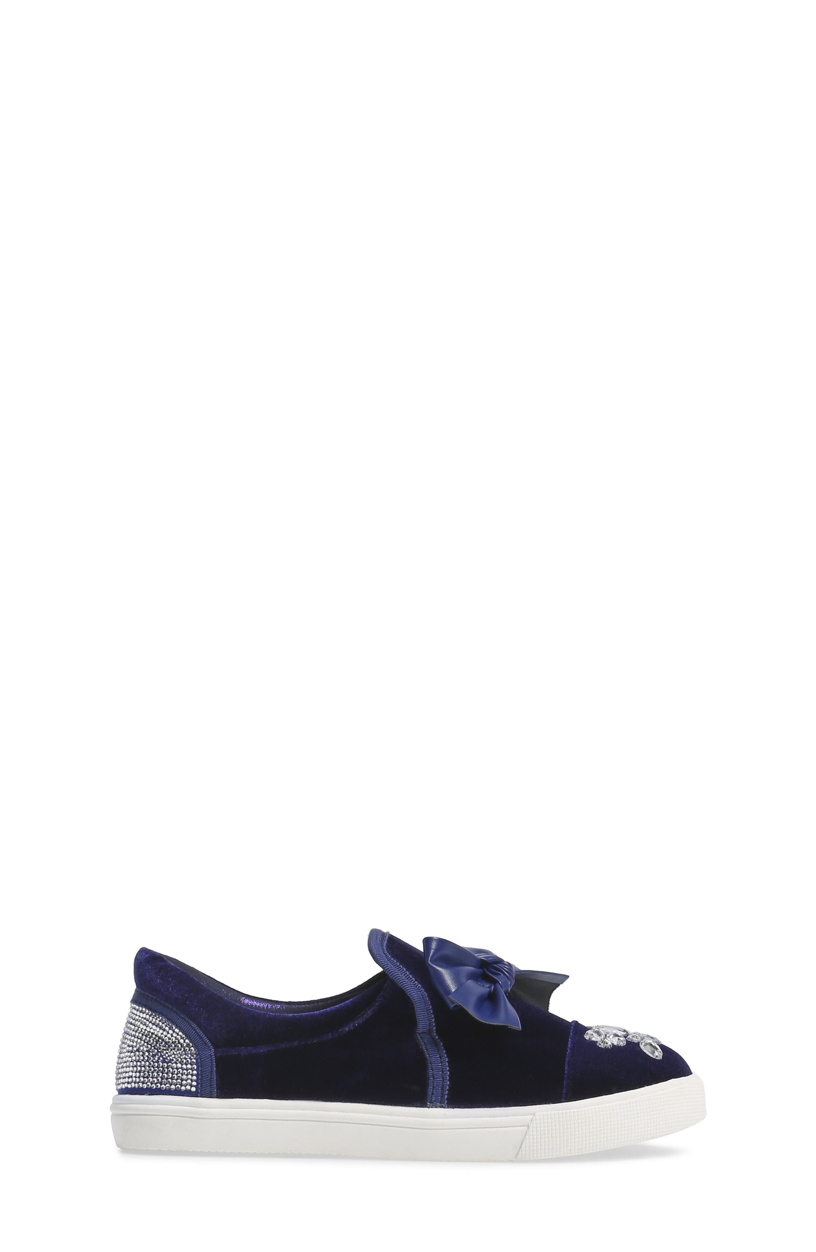 Alternate Image 3  - Badgley Mischka Delight Embellished Slip-On Sneaker (Toddler, Little Kid & Big Kid)