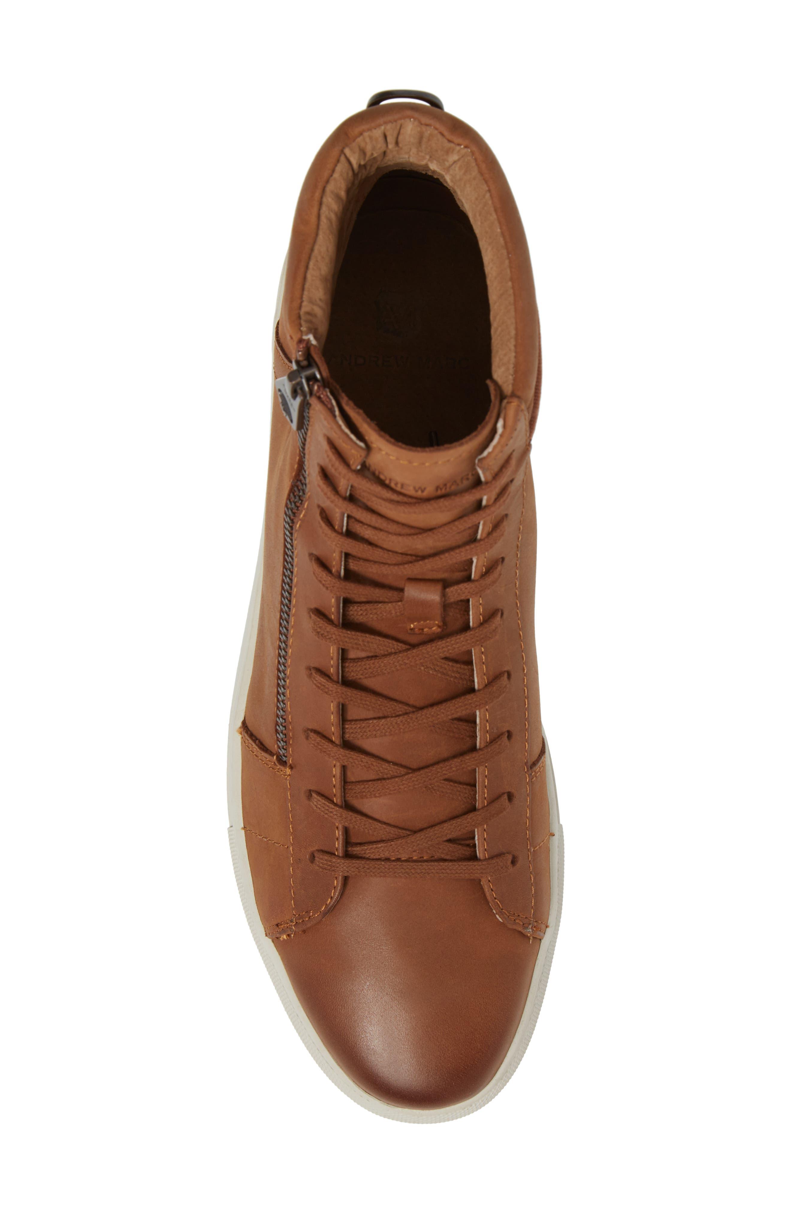 Alternate Image 5  - Andrew Marc Remsen Sneaker (Men)