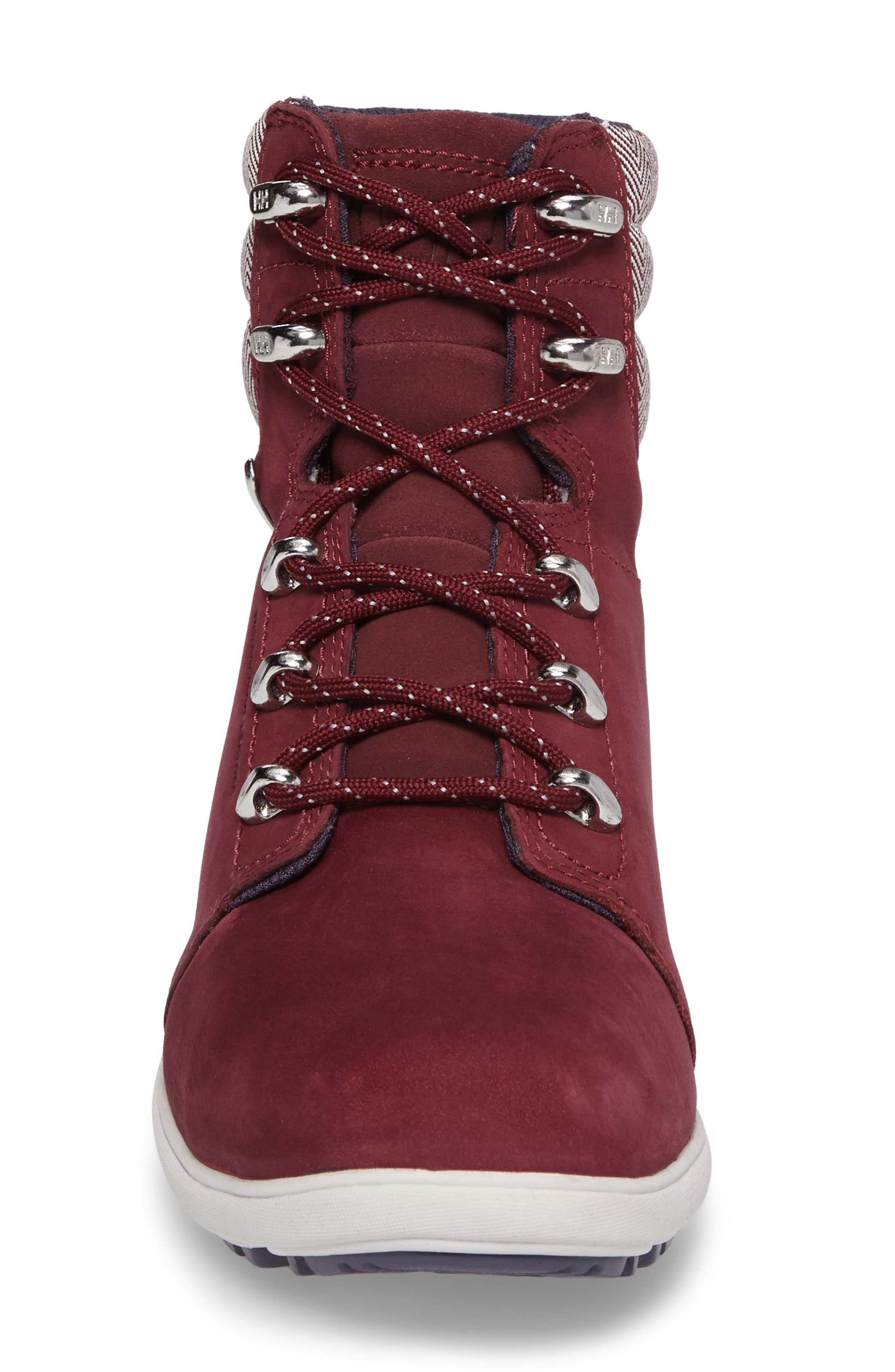 'W.A.S.T 2' Waterproof Hiker Boot,                             Alternate thumbnail 4, color,                             Port / Ash Grey / Graphite