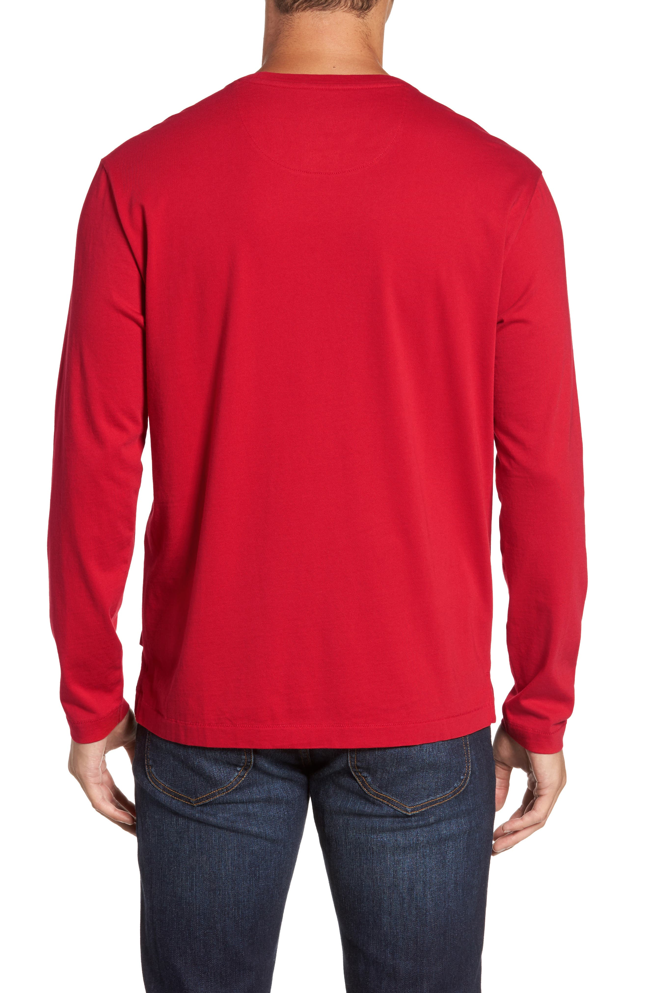 Alternate Image 2  - Tommy Bahama Bali Skyline Long Sleeve Pima Cotton T-Shirt