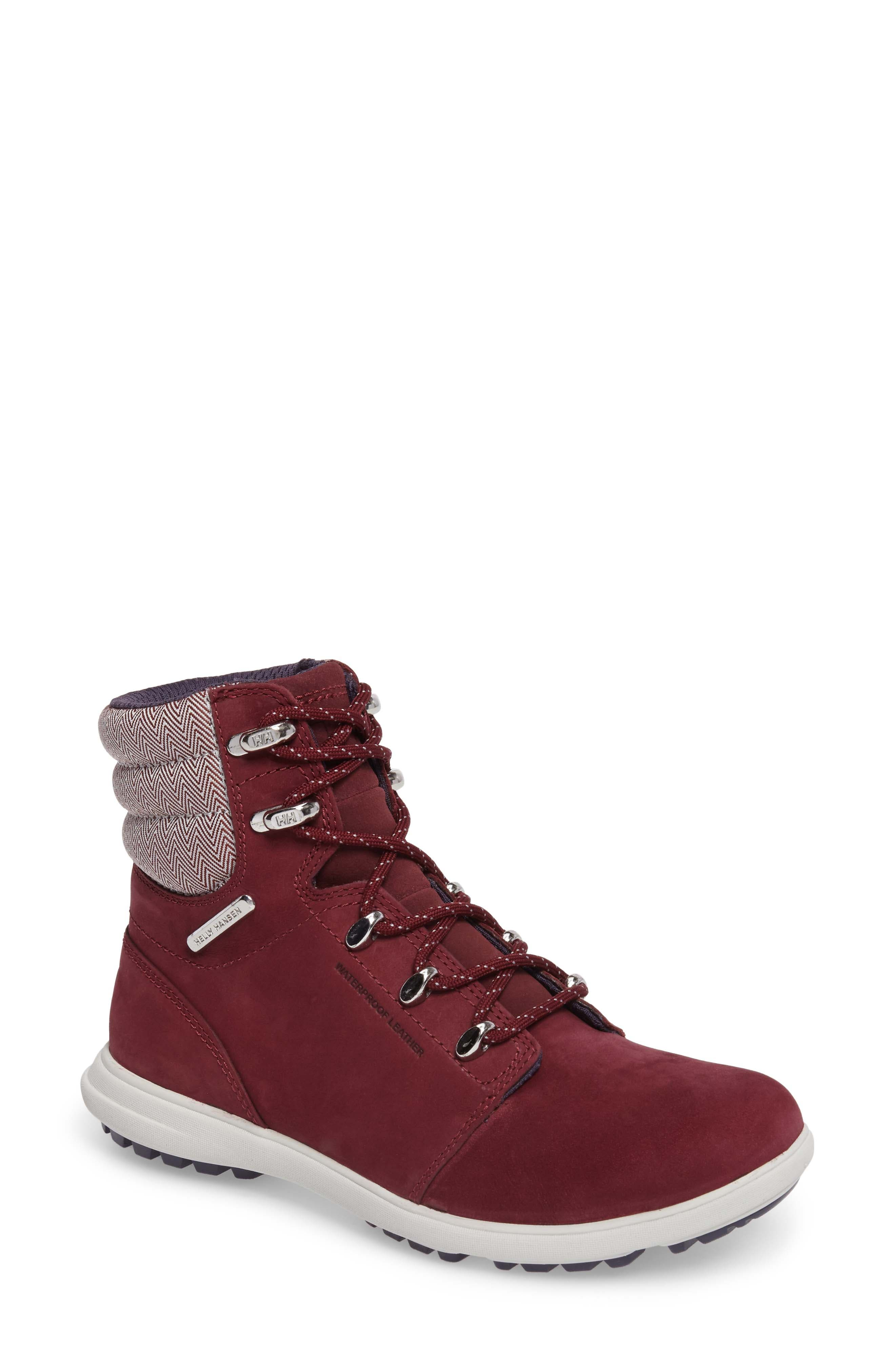 'W.A.S.T 2' Waterproof Hiker Boot,                             Main thumbnail 1, color,                             Port / Ash Grey / Graphite
