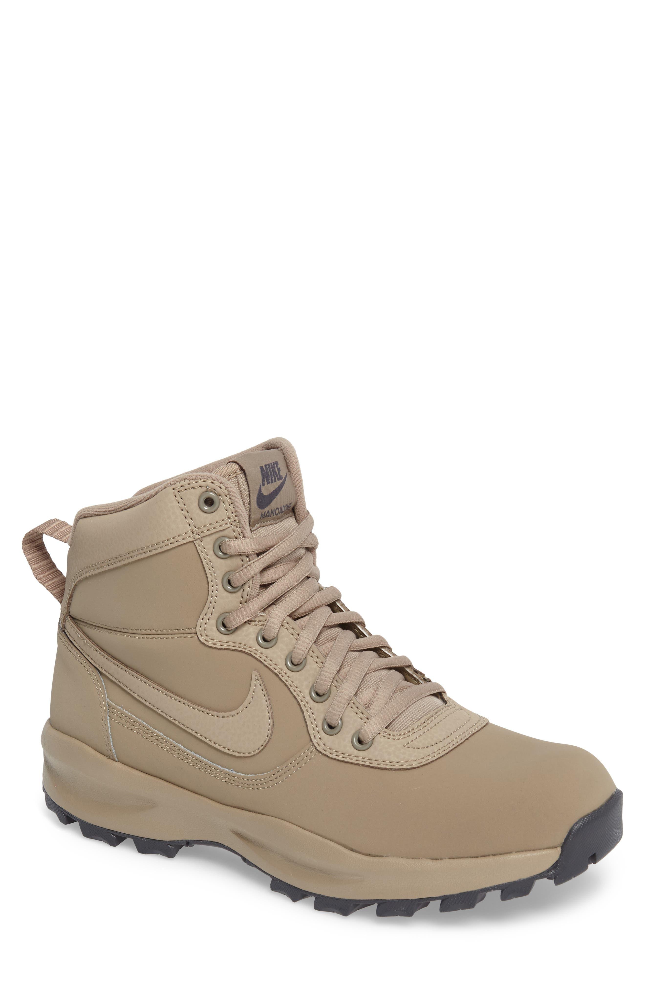 Manoadome Boot,                         Main,                         color, Khaki/ Khaki/ Dark Grey