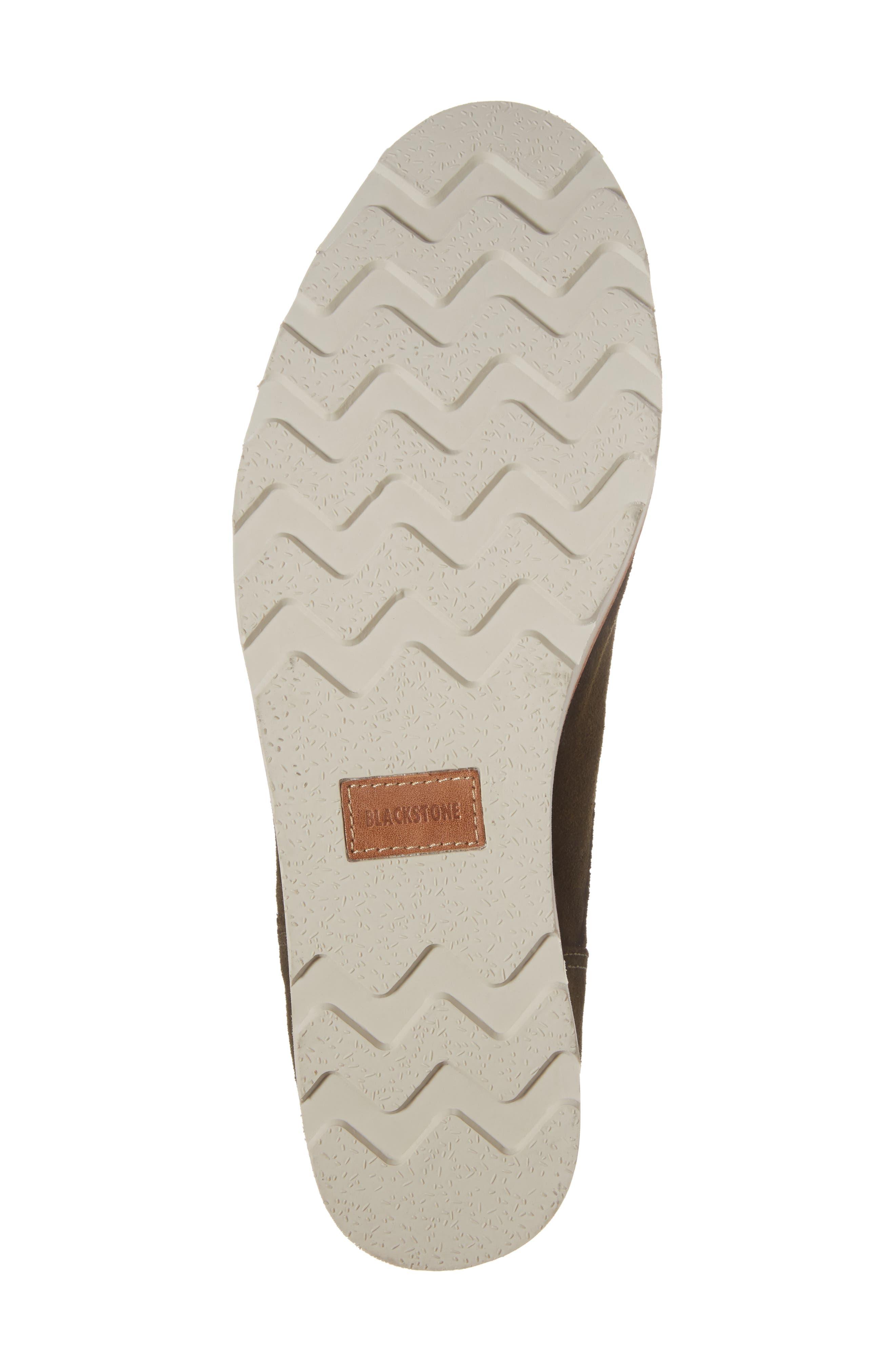 OM 53 Plain Toe Boot,                             Alternate thumbnail 6, color,                             Dark Green Leather