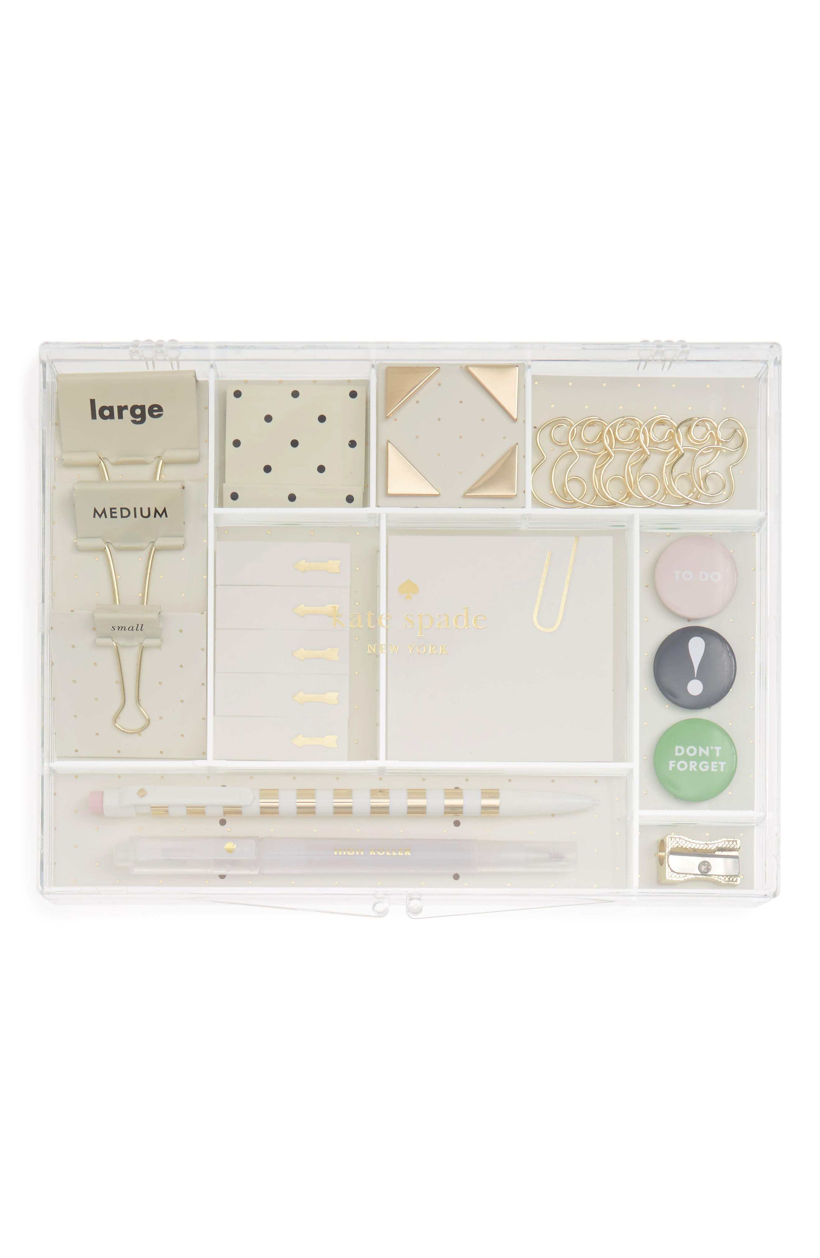 Main Image - kate spade new york office supply kit