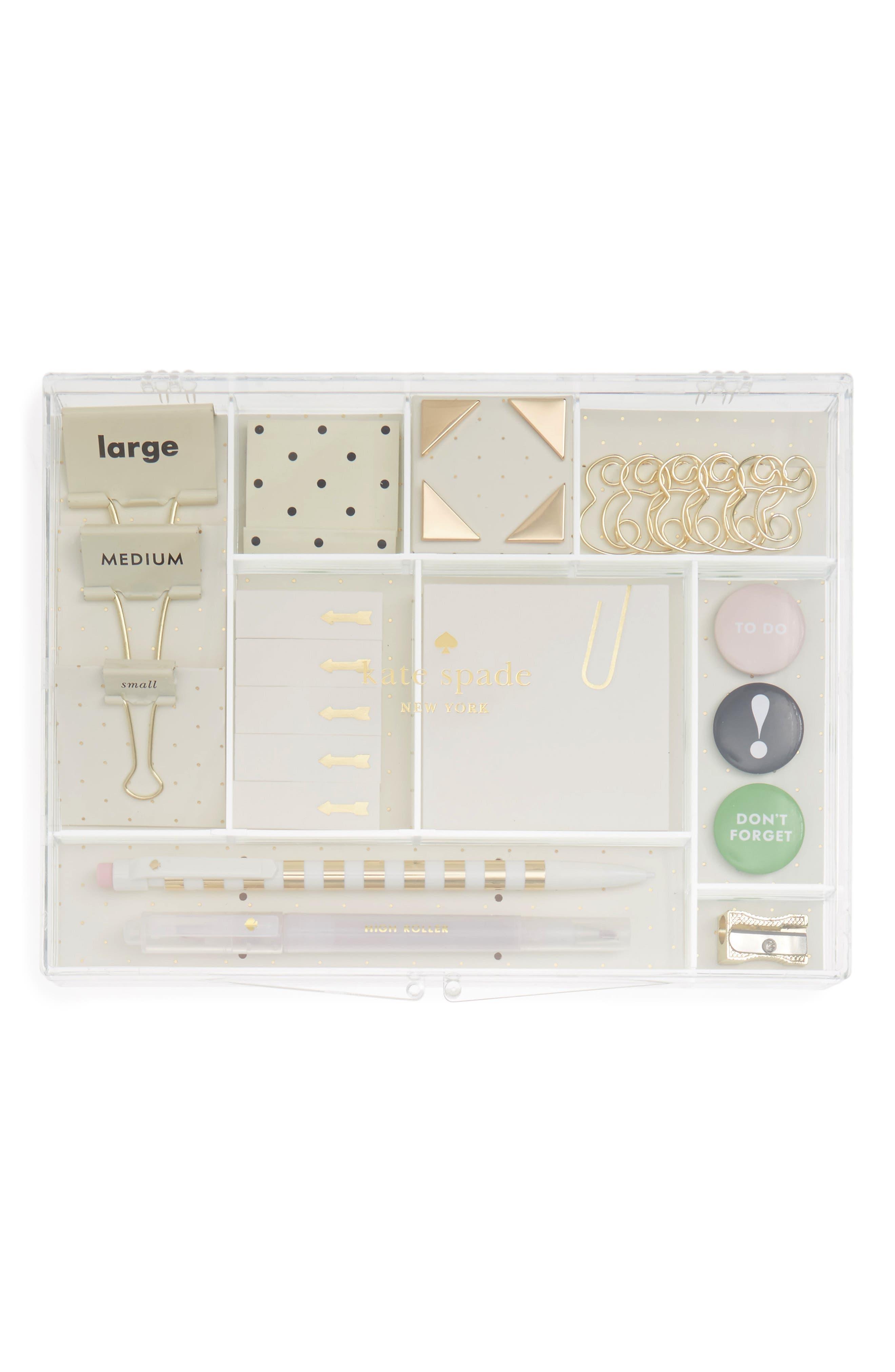 kate spade new york office supply kit