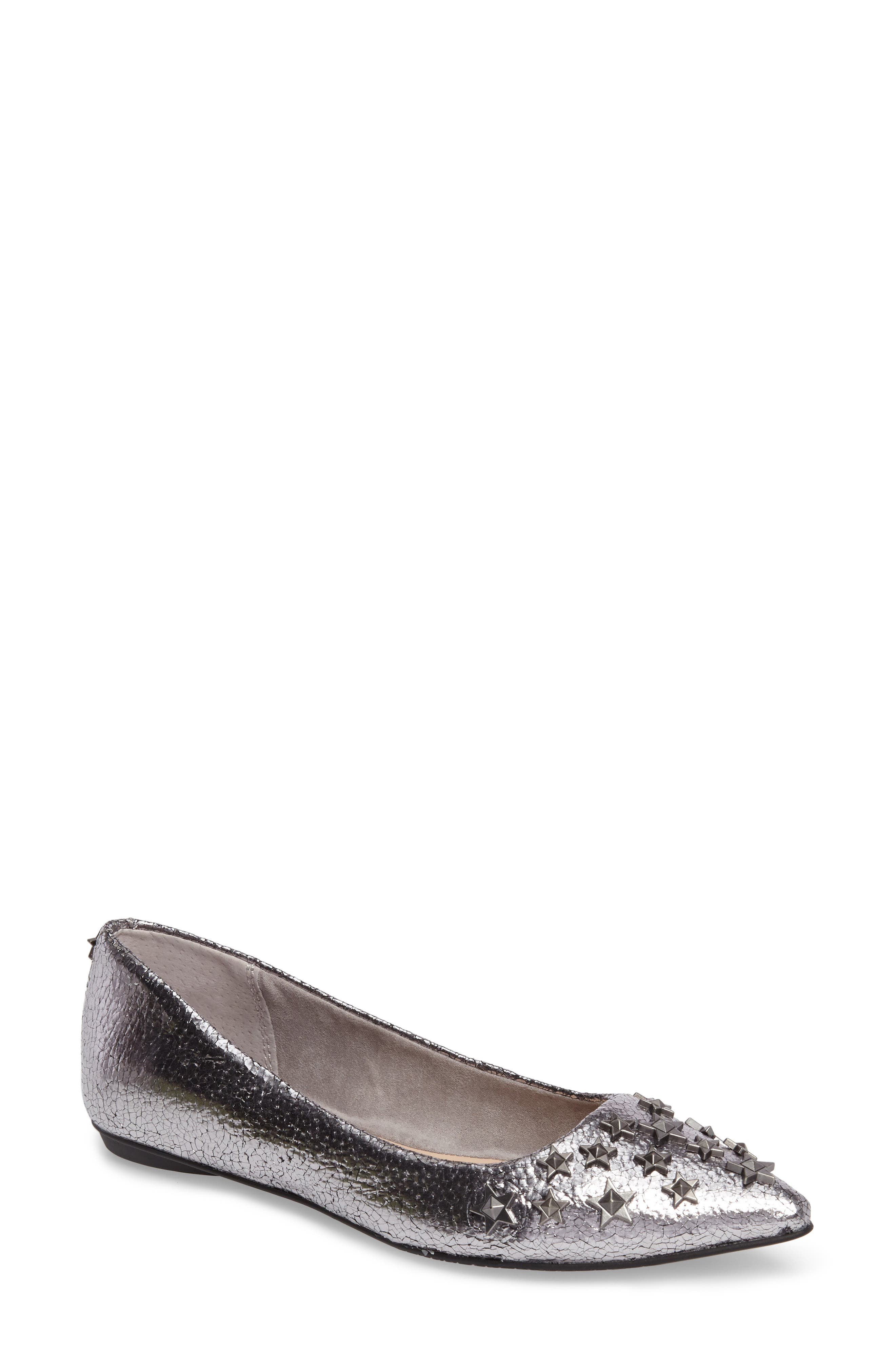 Alternate Image 1 Selected - BP. Stella Embellished Flat (Women)