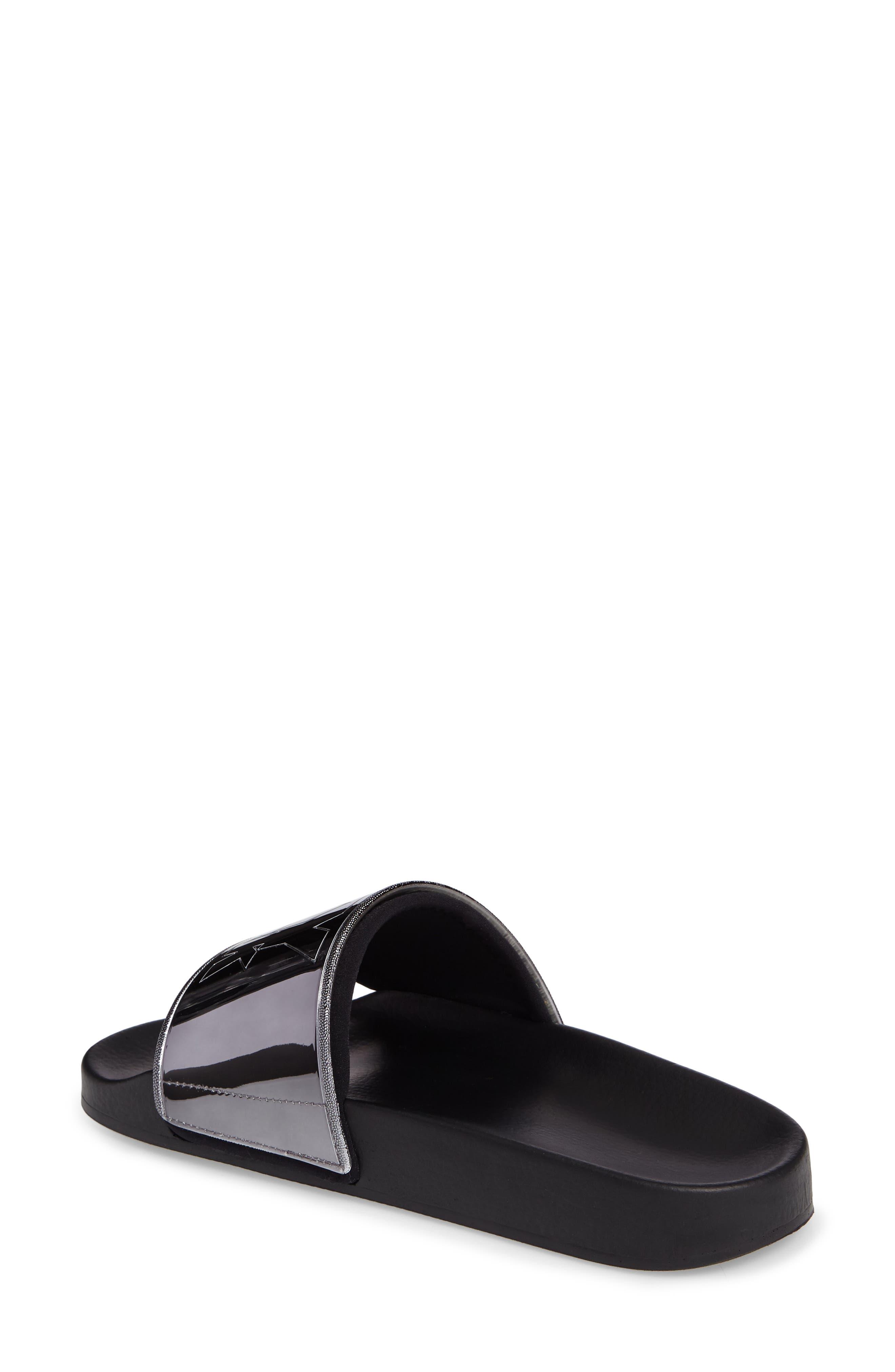 Alternate Image 2  - IVY PARK® Neoprene Lined Logo Slide Sandal (Women)