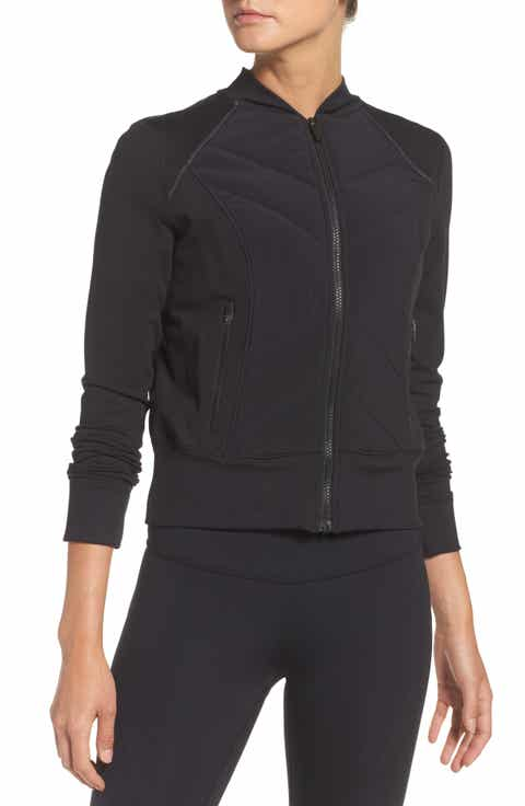 Zella Wear It Out Bomber Jacket - Women's Bomber Jackets Nordstrom Nordstrom