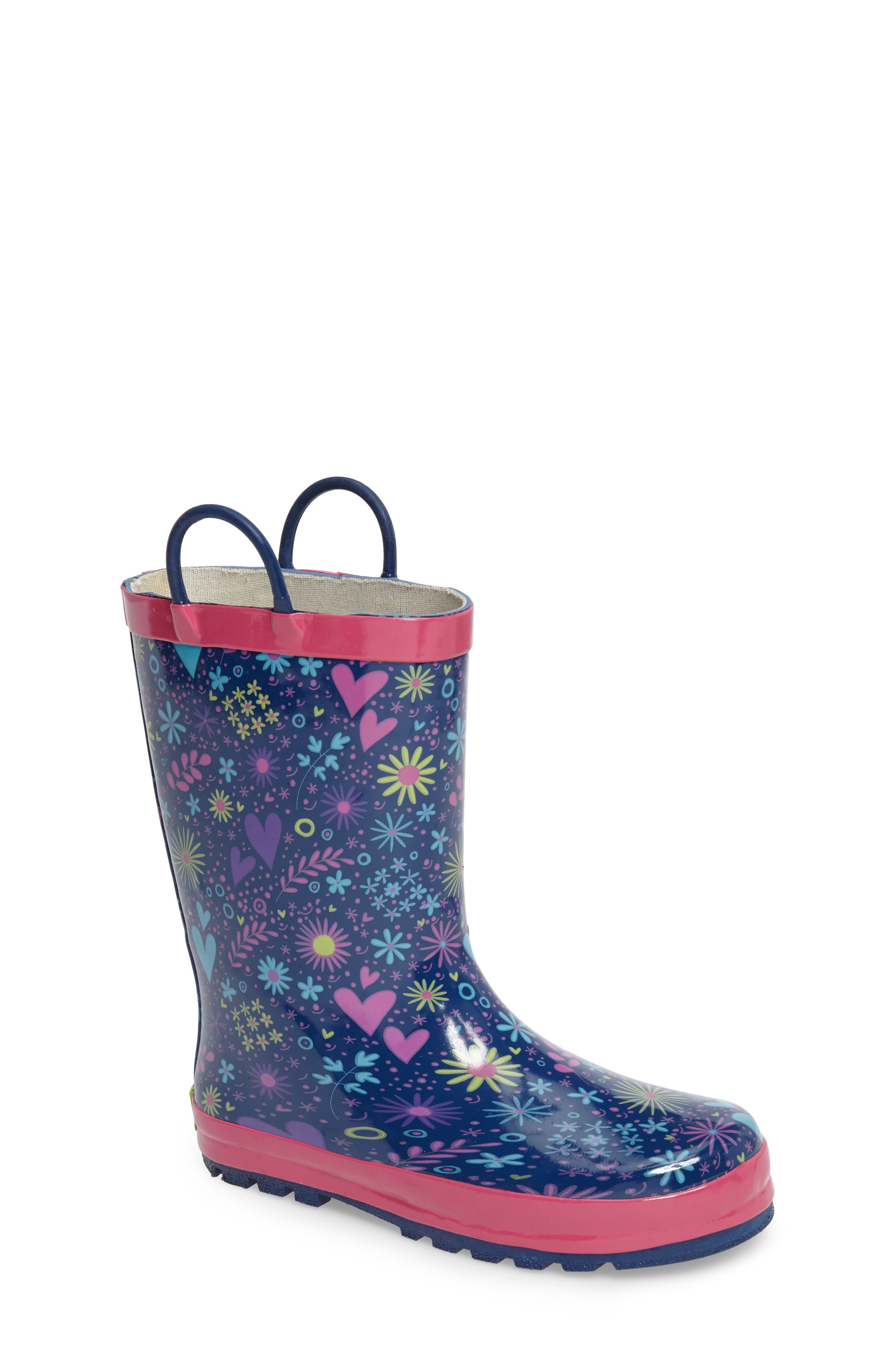 Alternate Image 1 Selected - Western Chief Willow Rain Boot (Toddler, Little Kid & Big Kid)