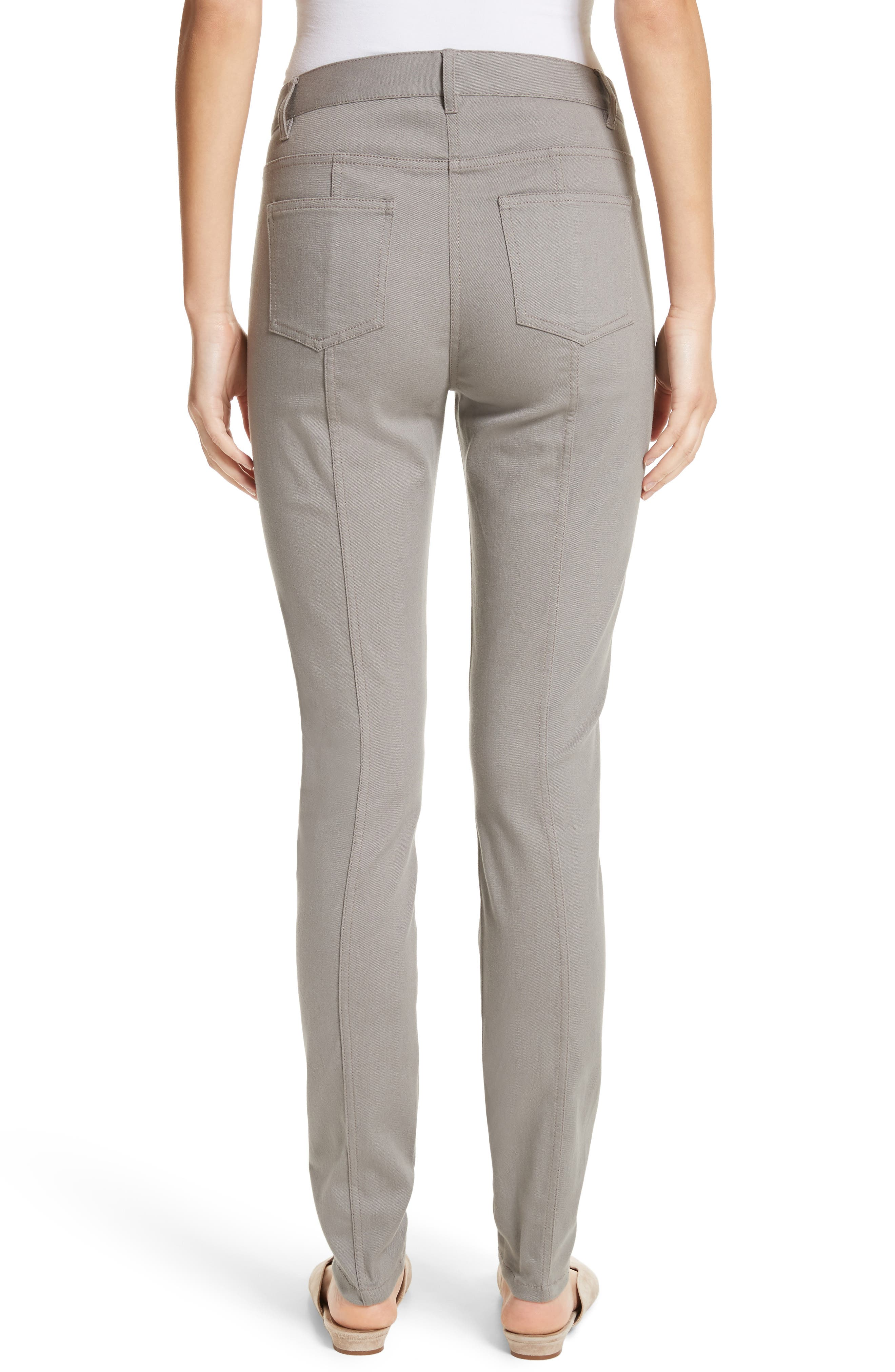 Bardot Double Dye Stretch Jeans,                             Alternate thumbnail 2, color,                             Travertine