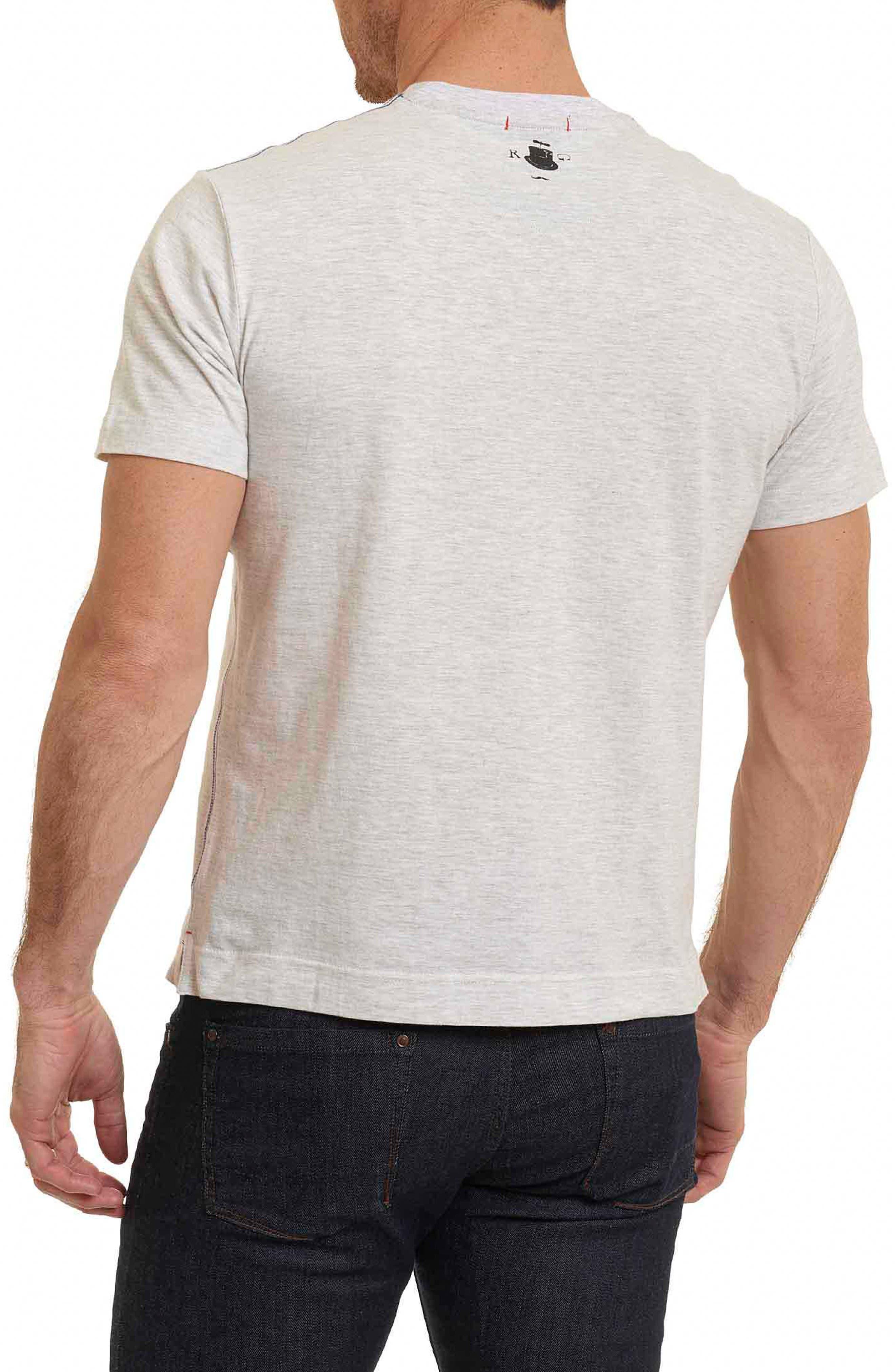 Guns Ready T-Shirt,                             Alternate thumbnail 2, color,                             Oatmeal