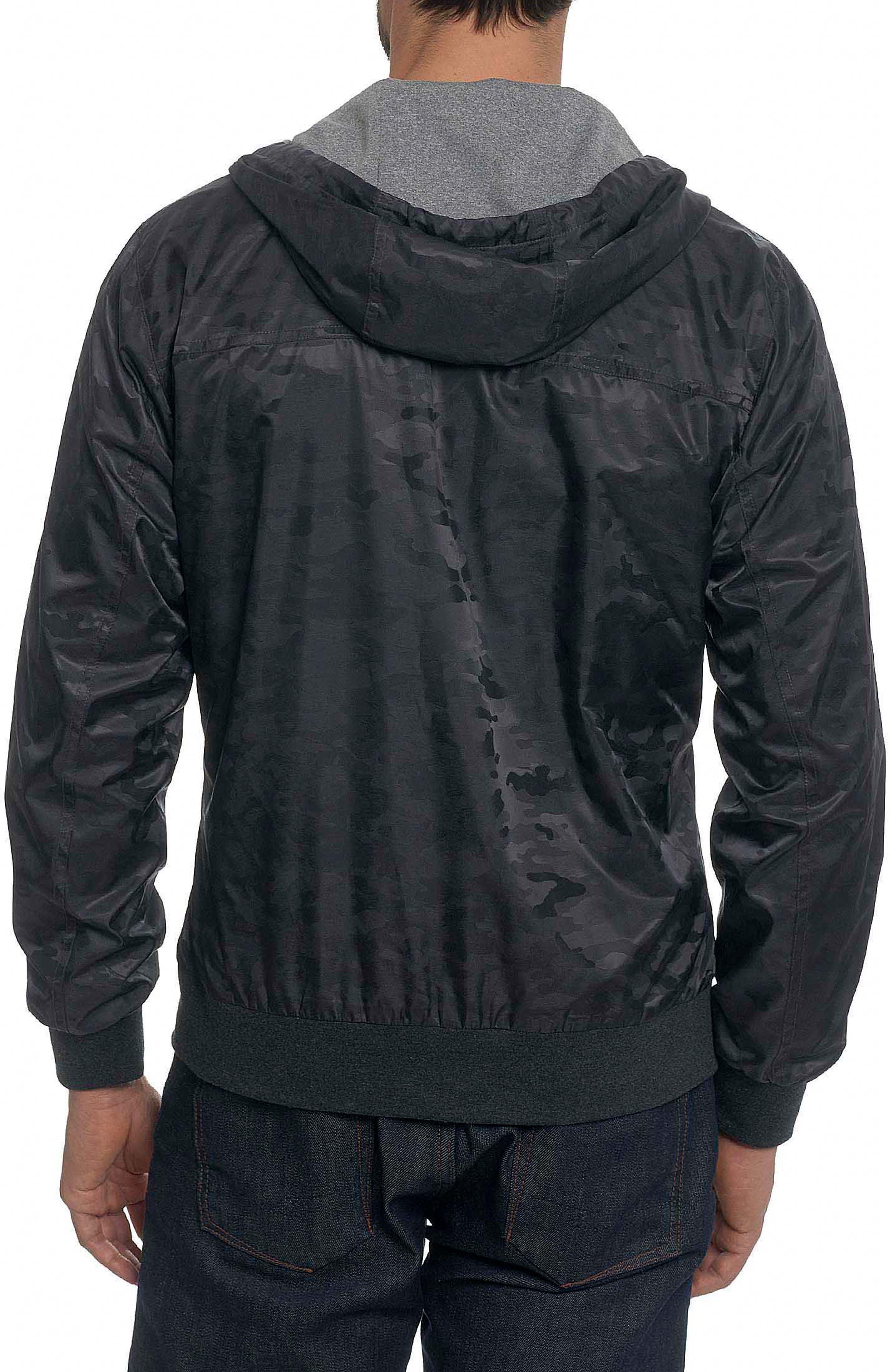 Peekskill Tailored Fit Jacket,                             Alternate thumbnail 2, color,                             Carbon