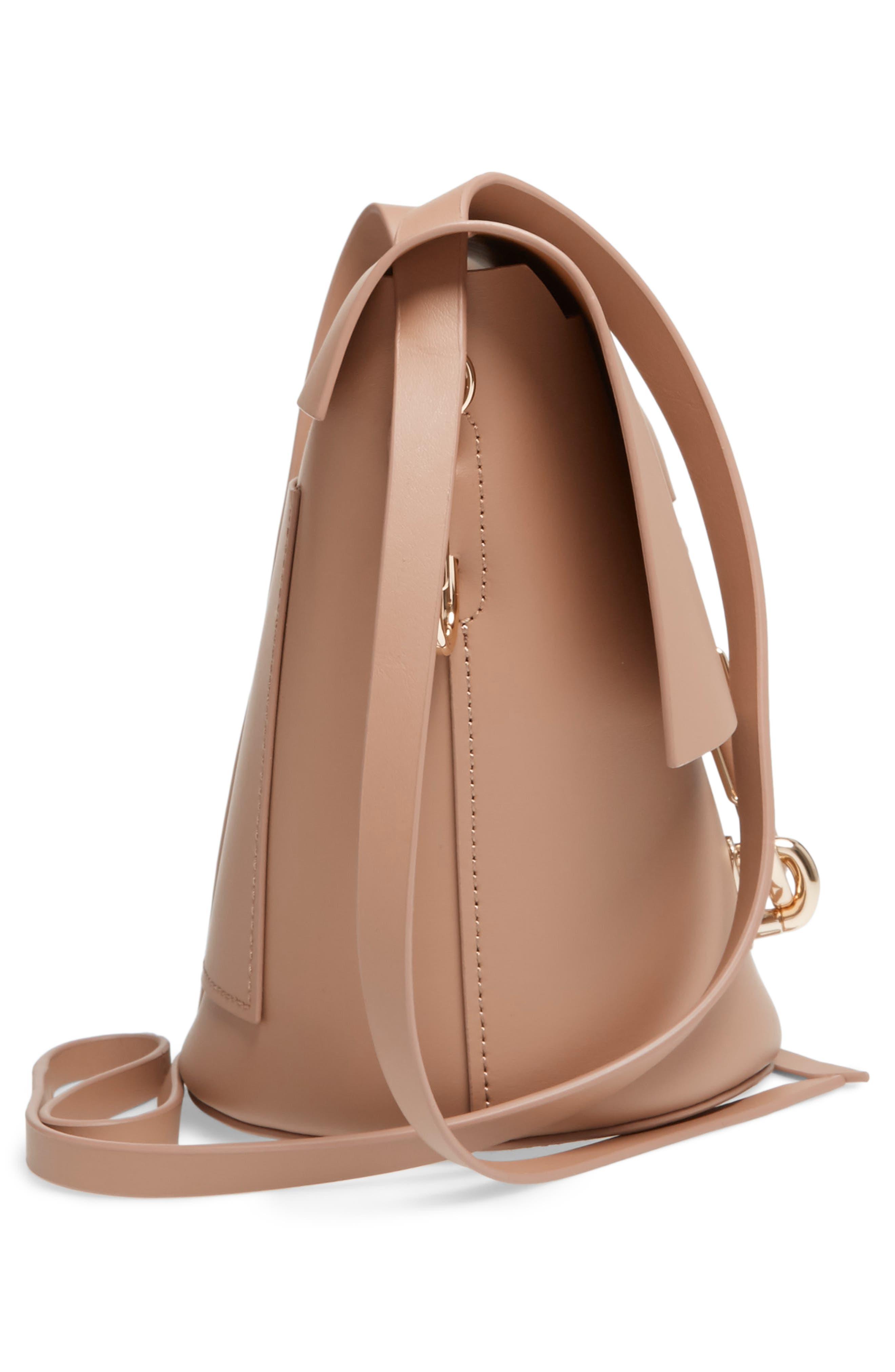 Alternate Image 5  - ZAC Zac Posen Belay Leather Crossbody Bucket Bag