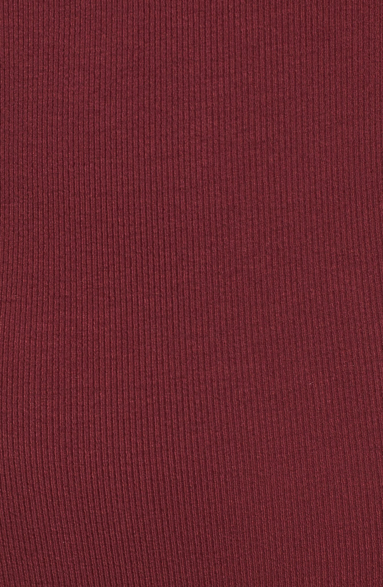 Thong Bodysuit,                             Alternate thumbnail 5, color,                             Burgundy