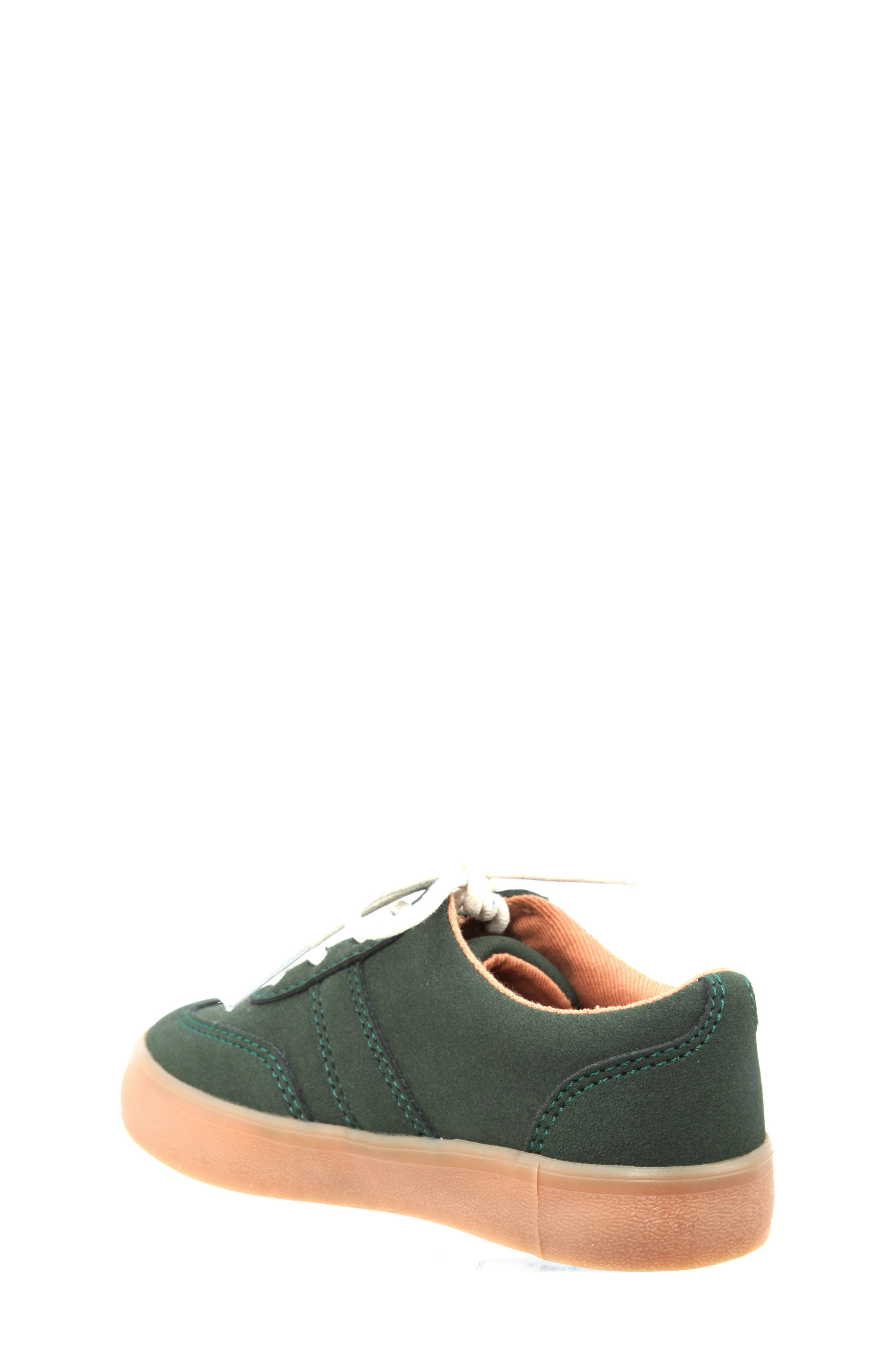 Neal Low Top Sneaker,                             Alternate thumbnail 2, color,                             Olive Suede