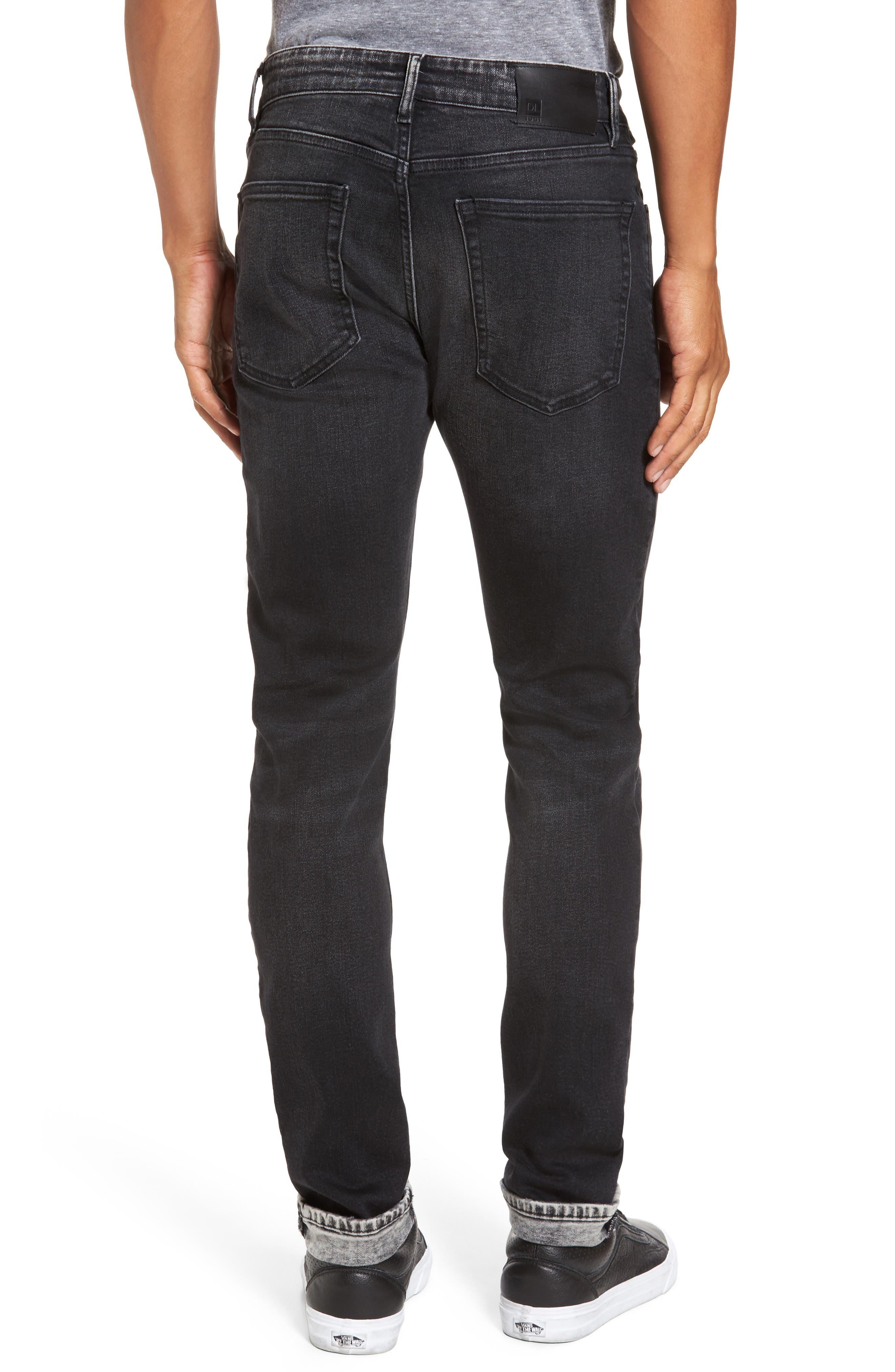 Alternate Image 2  - DL1961 Hunter Skinny Jeans (Argon)