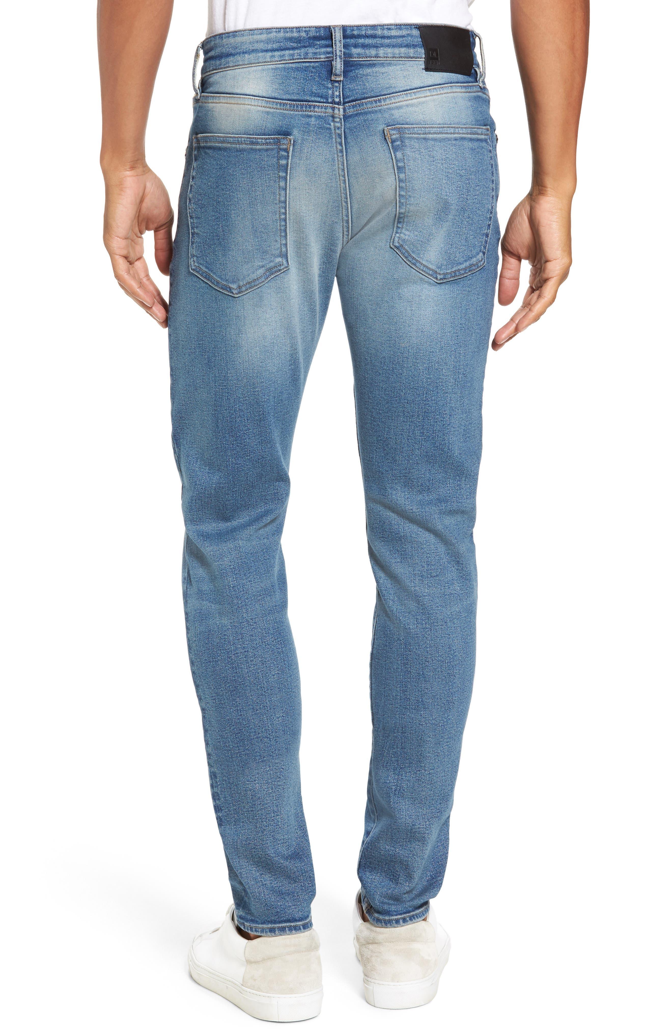 Alternate Image 2  - DL1961 Hunter Skinny Jeans (Halt)