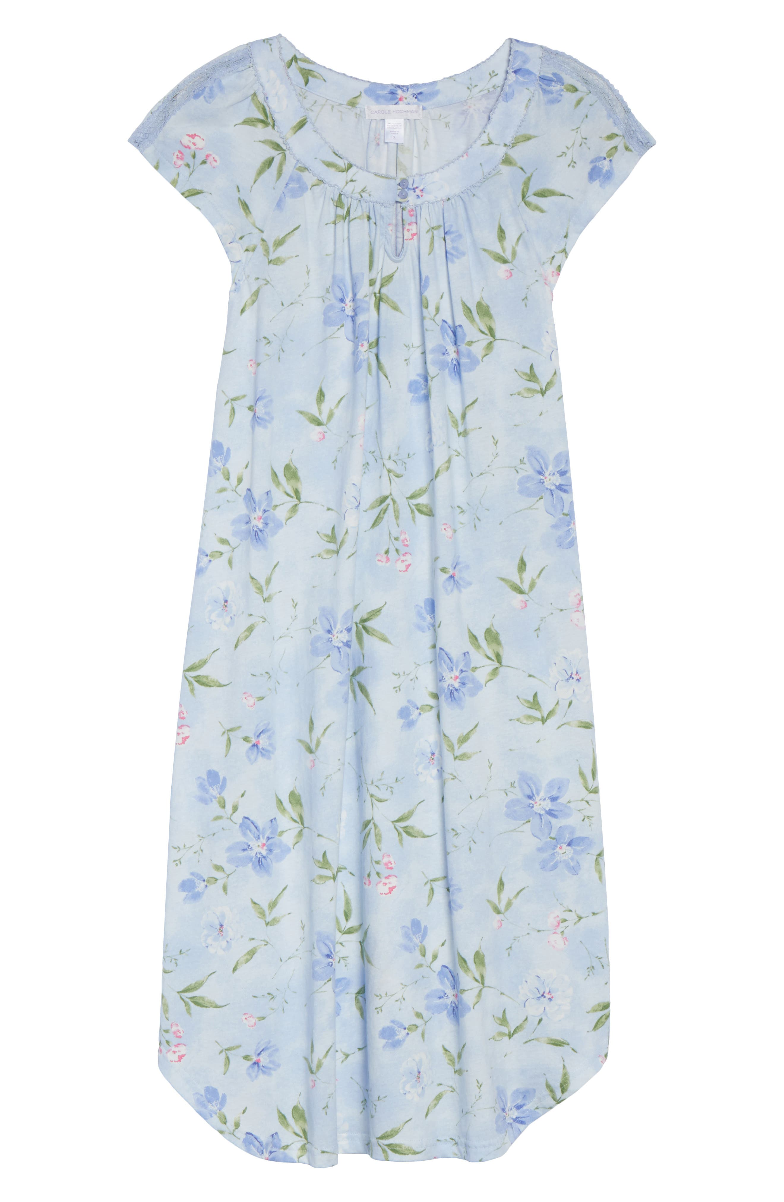 Short Nightgown,                             Alternate thumbnail 4, color,                             London Buds