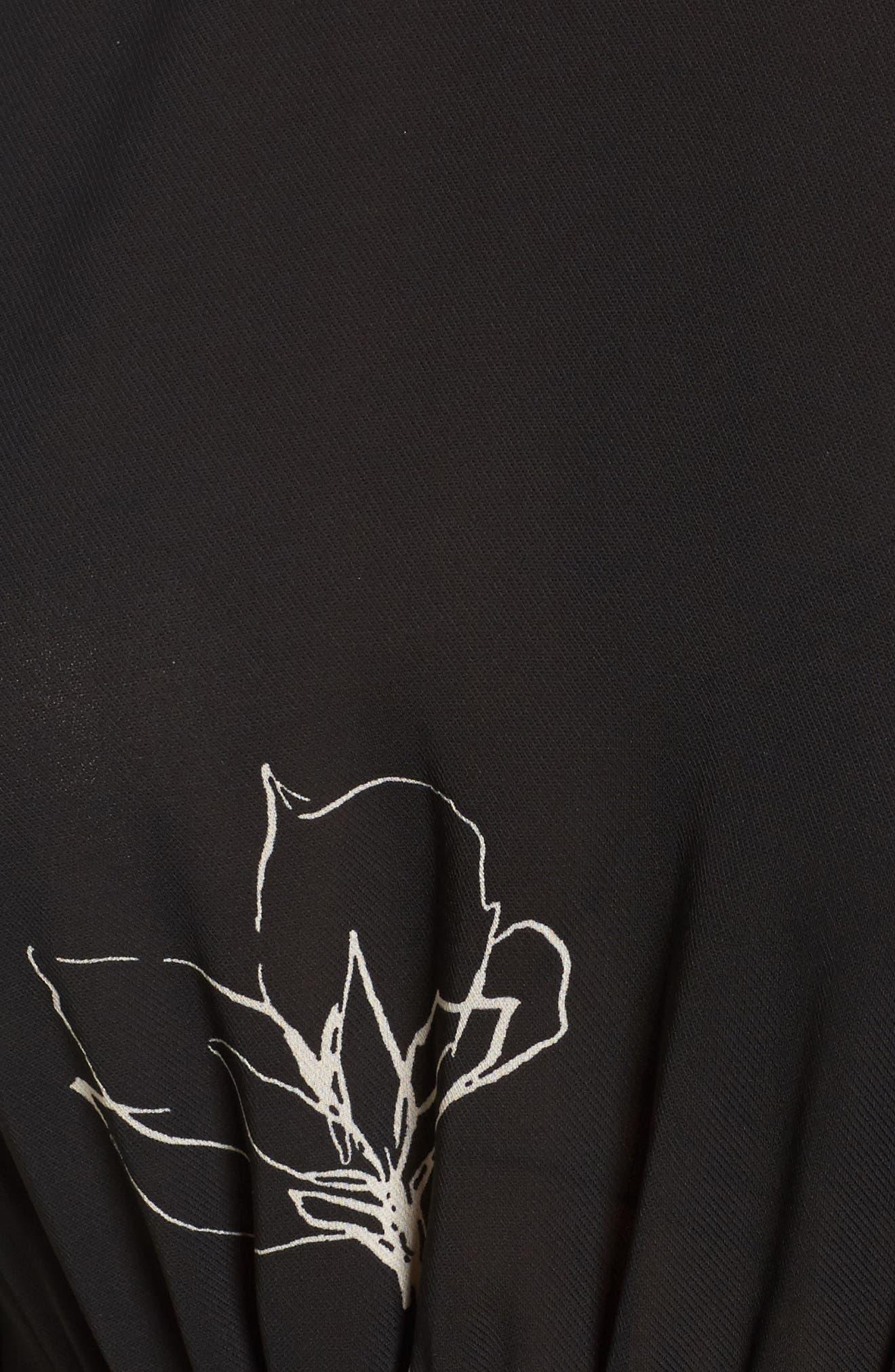 Alternate Image 5  - ASTR the Label Tie Skirt Dress