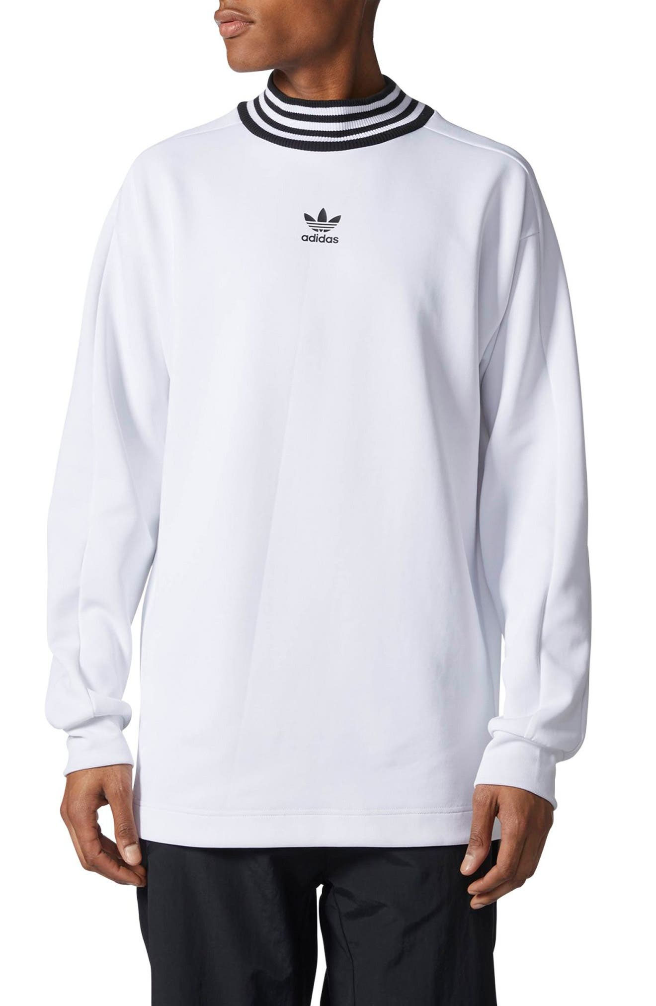 adidas Originals Mock Neck Sweatshirt
