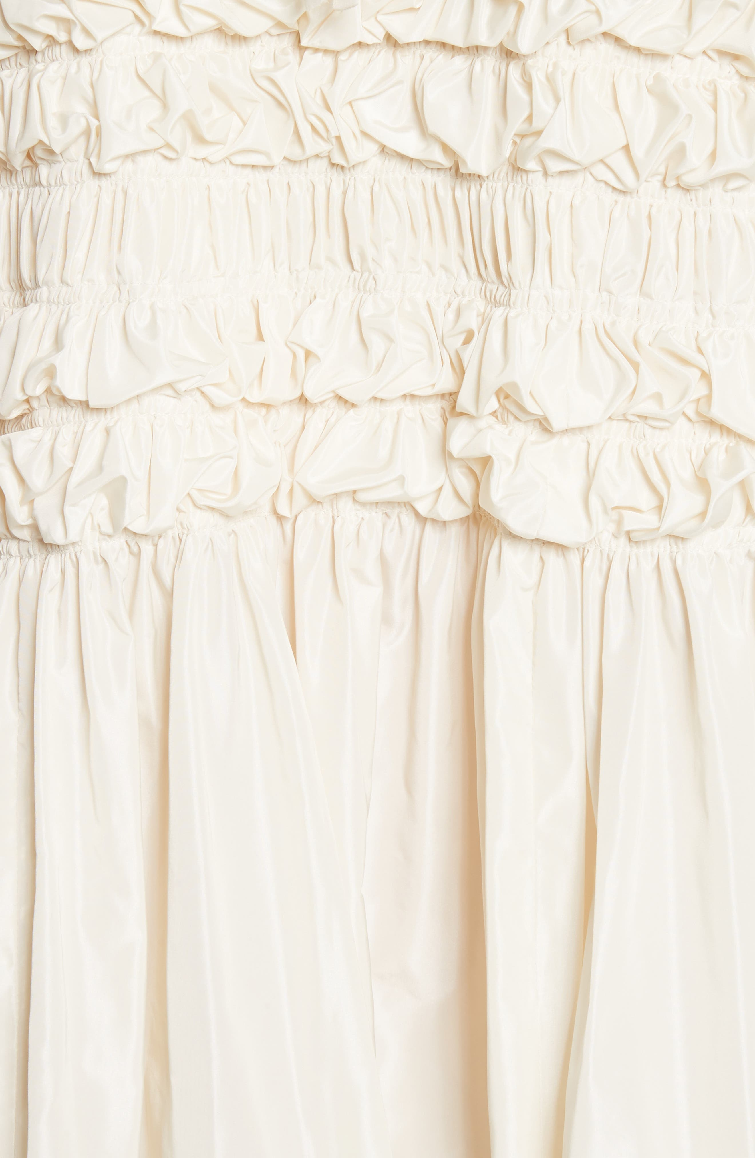 Alternate Image 5  - Molly Goddard Lizzie Ruffled Taffeta Dress