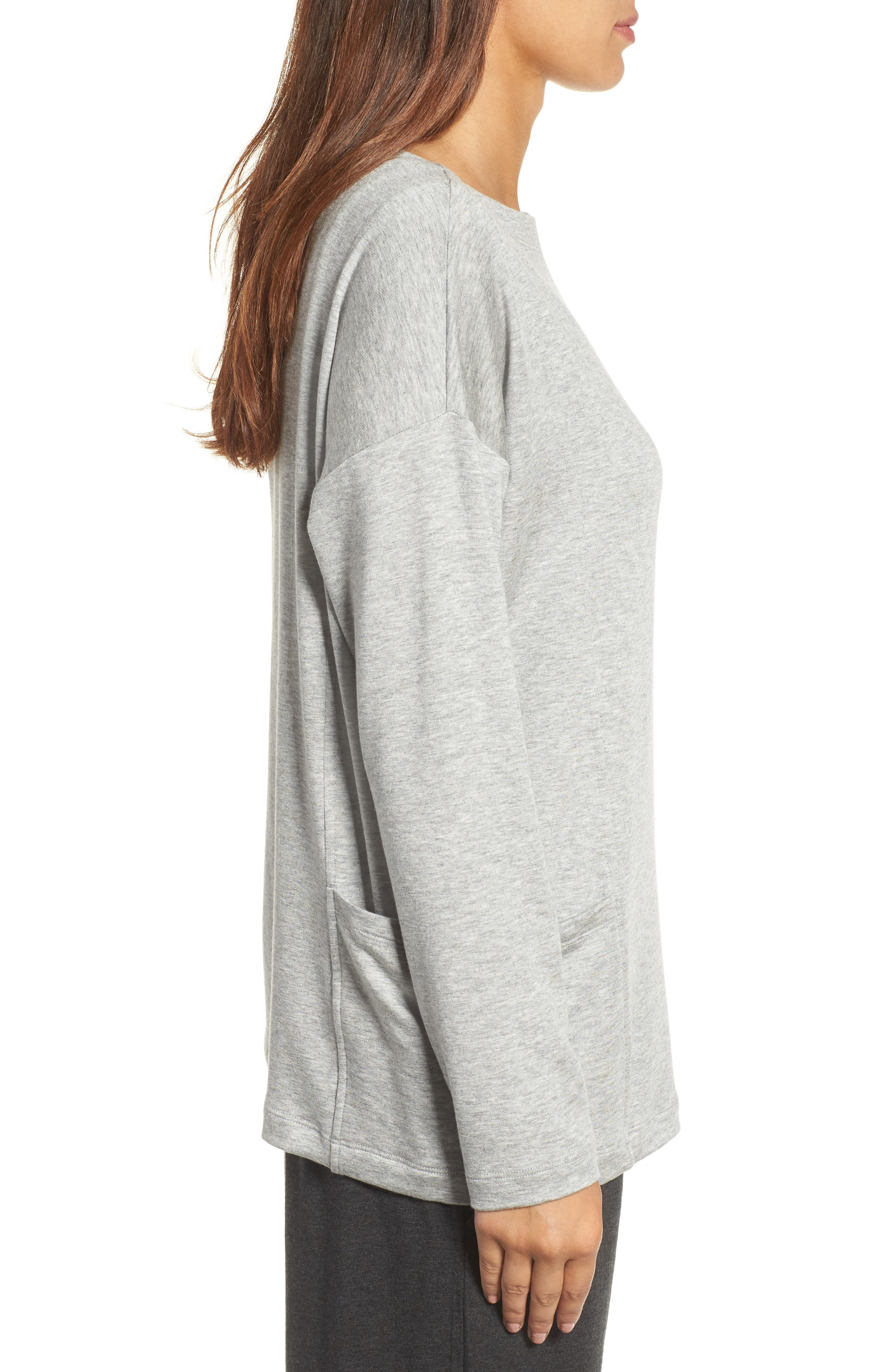 Alternate Image 3  - Eileen Fisher Bateau Neck Sweater