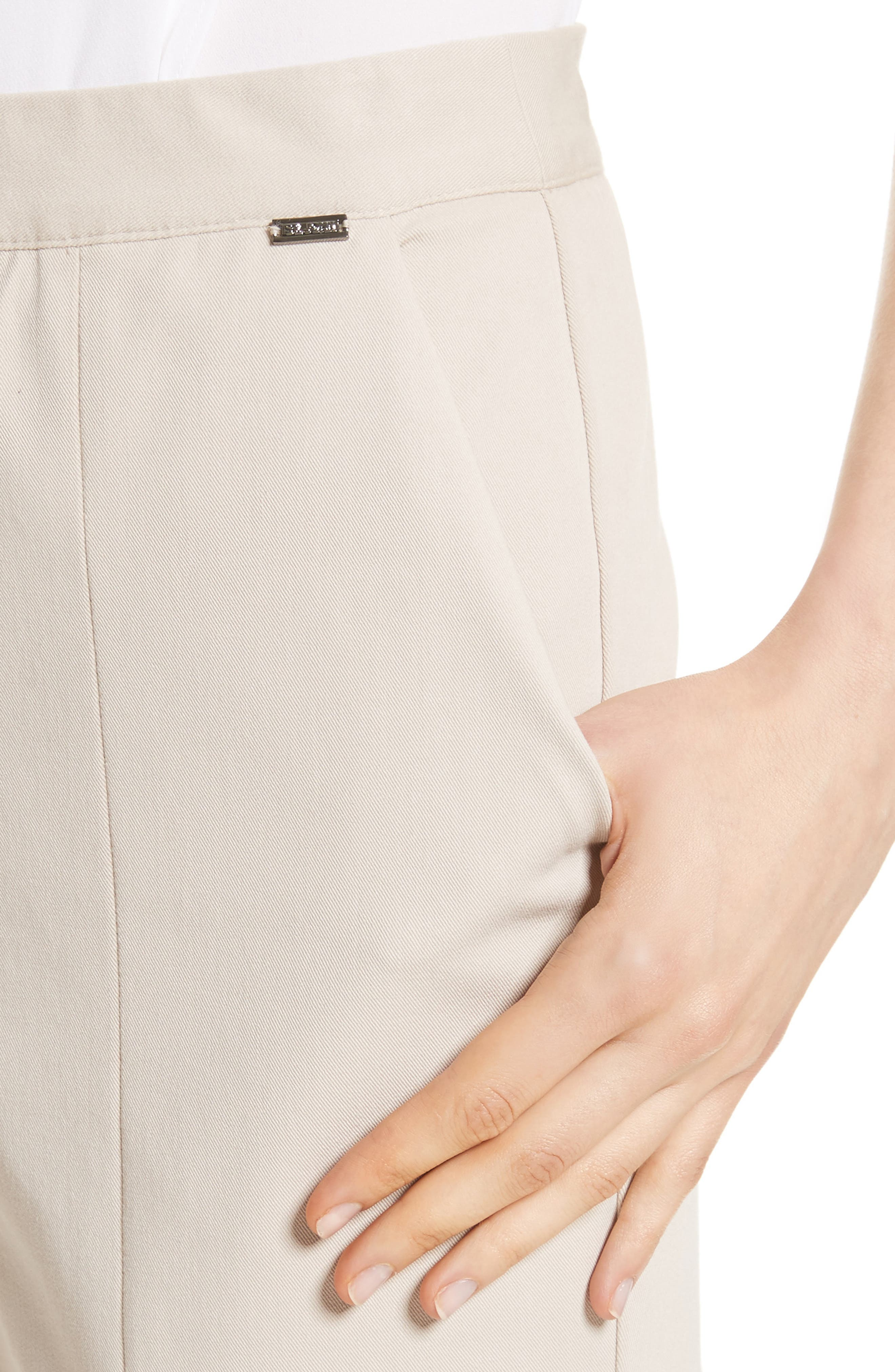 Alternate Image 4  - St. John Collection Fine Stretch Twill Pants