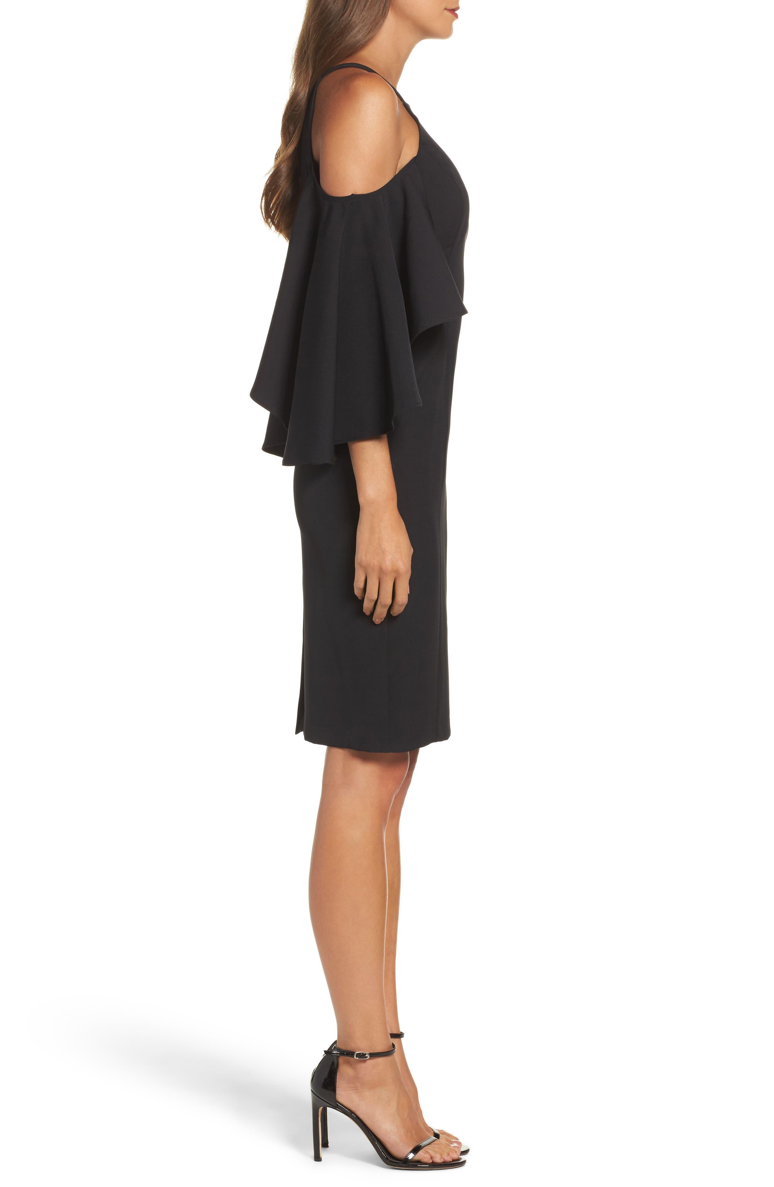 Alternate Image 3  - Vince Camuto Laguna Cold Shoulder Sheath Dress