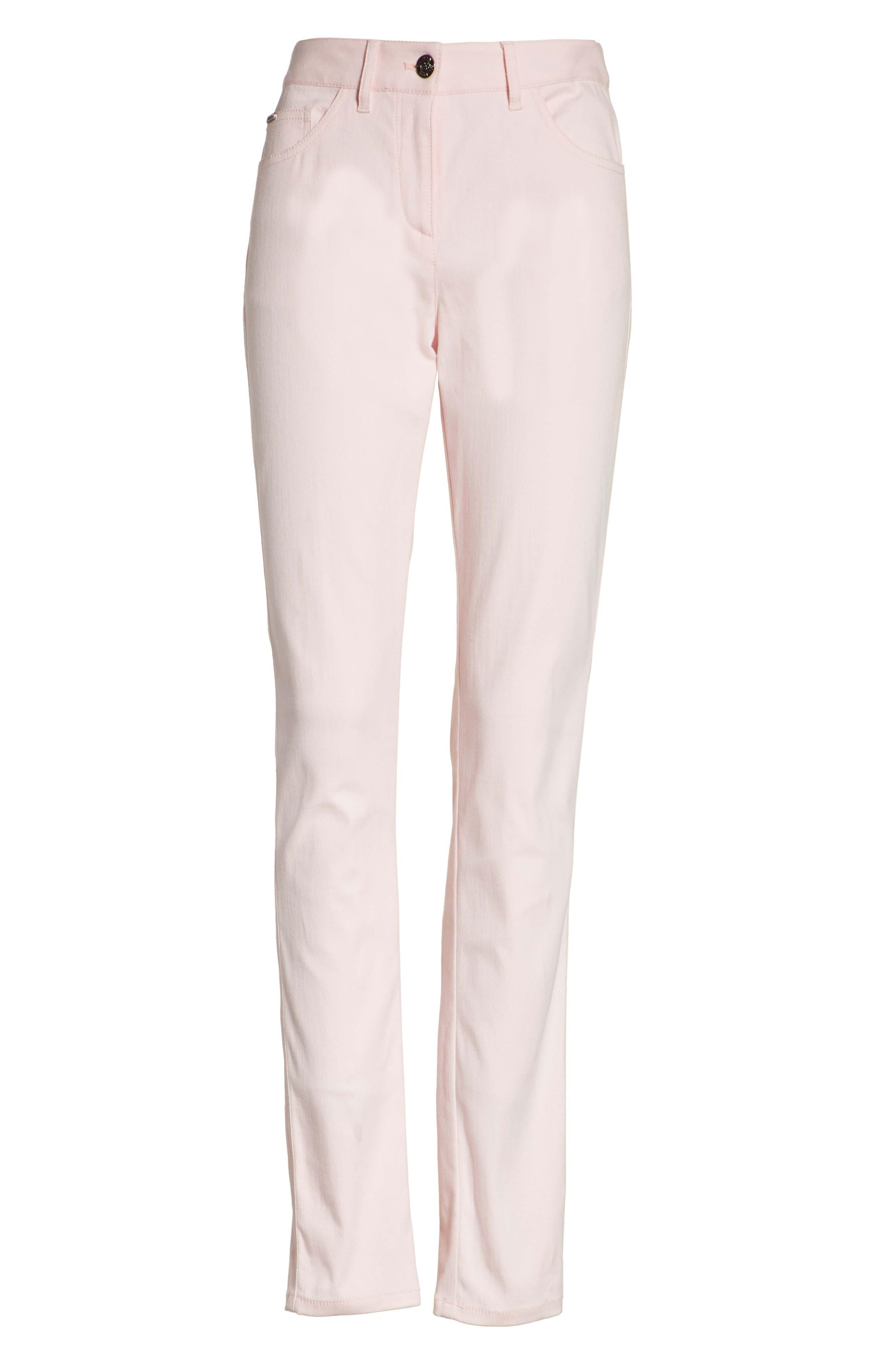 Alternate Image 7  - St. John Collection Bardot Double Dye Stretch Jeans