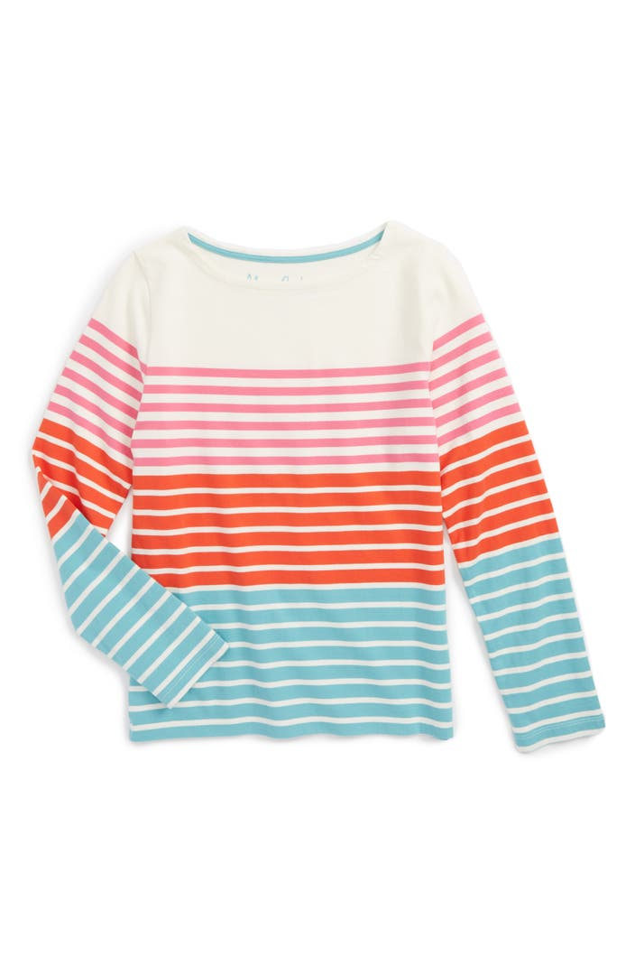 Mini boden colourfully stripy tee toddler girls little for Shop mini boden