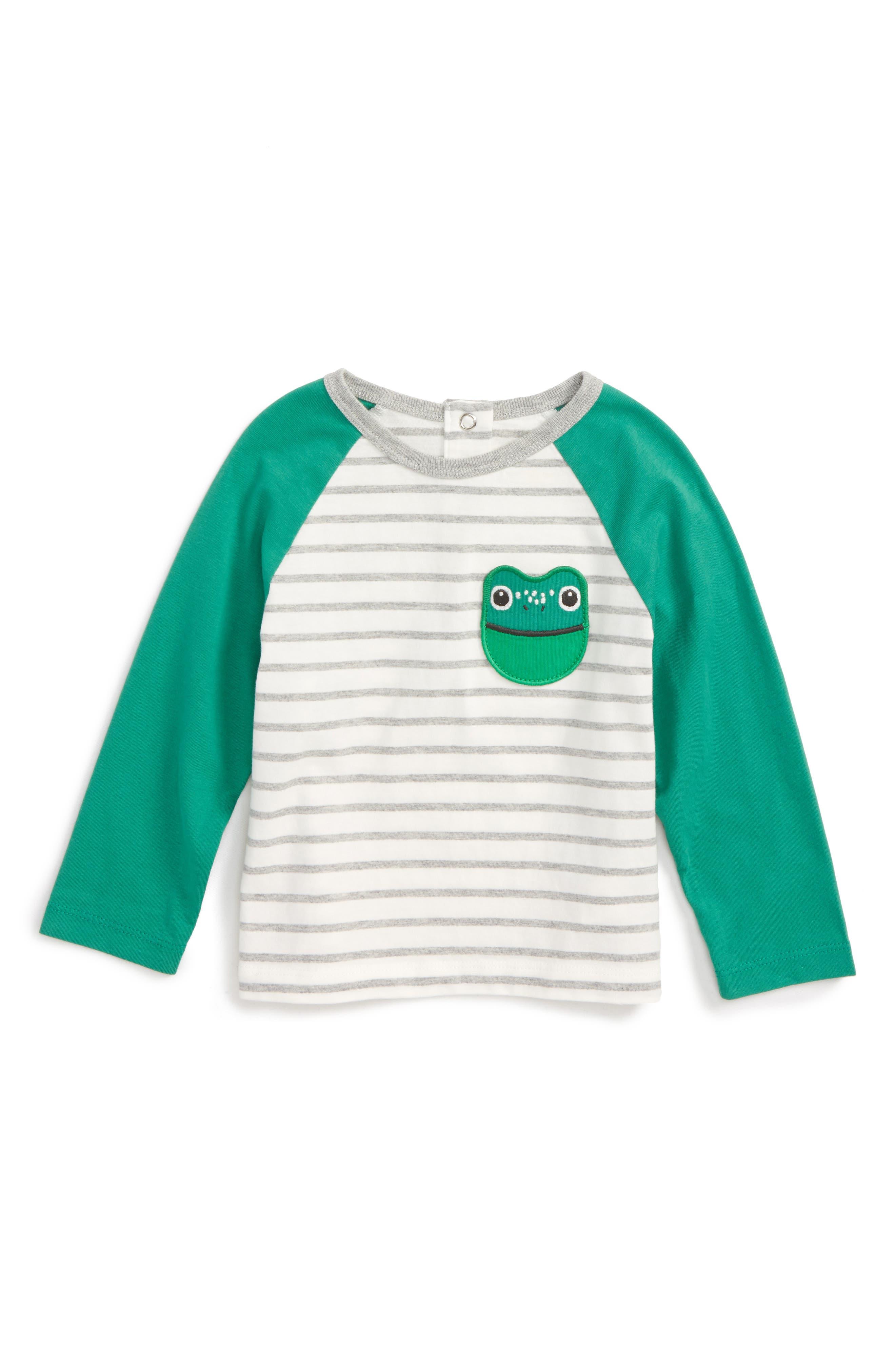 Main Image - Mini Boden Pocket Pet T-Shirt (Baby Boys & Toddler Boys)