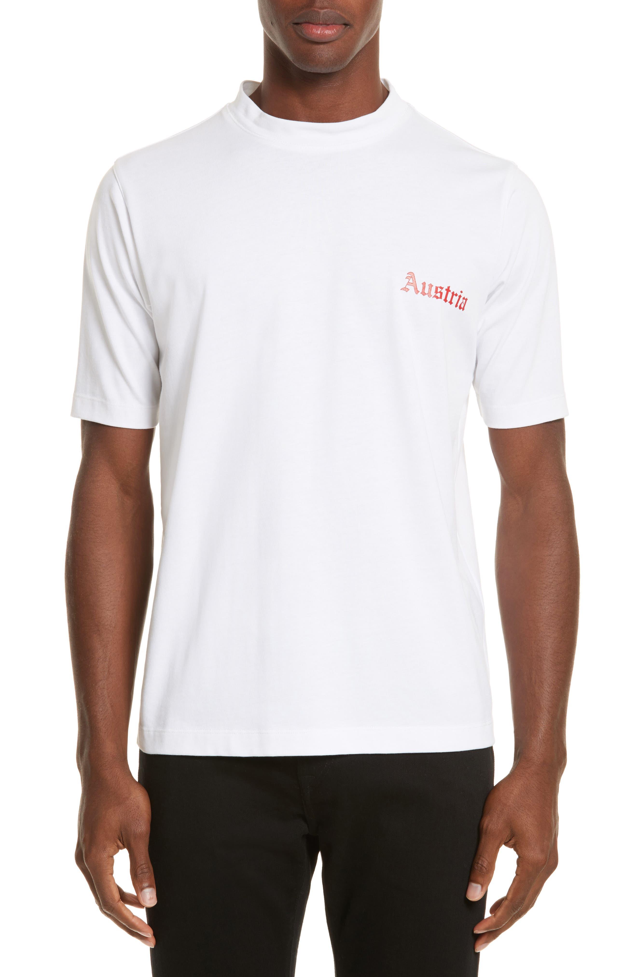 Austria Tall T-Shirt,                         Main,                         color, White