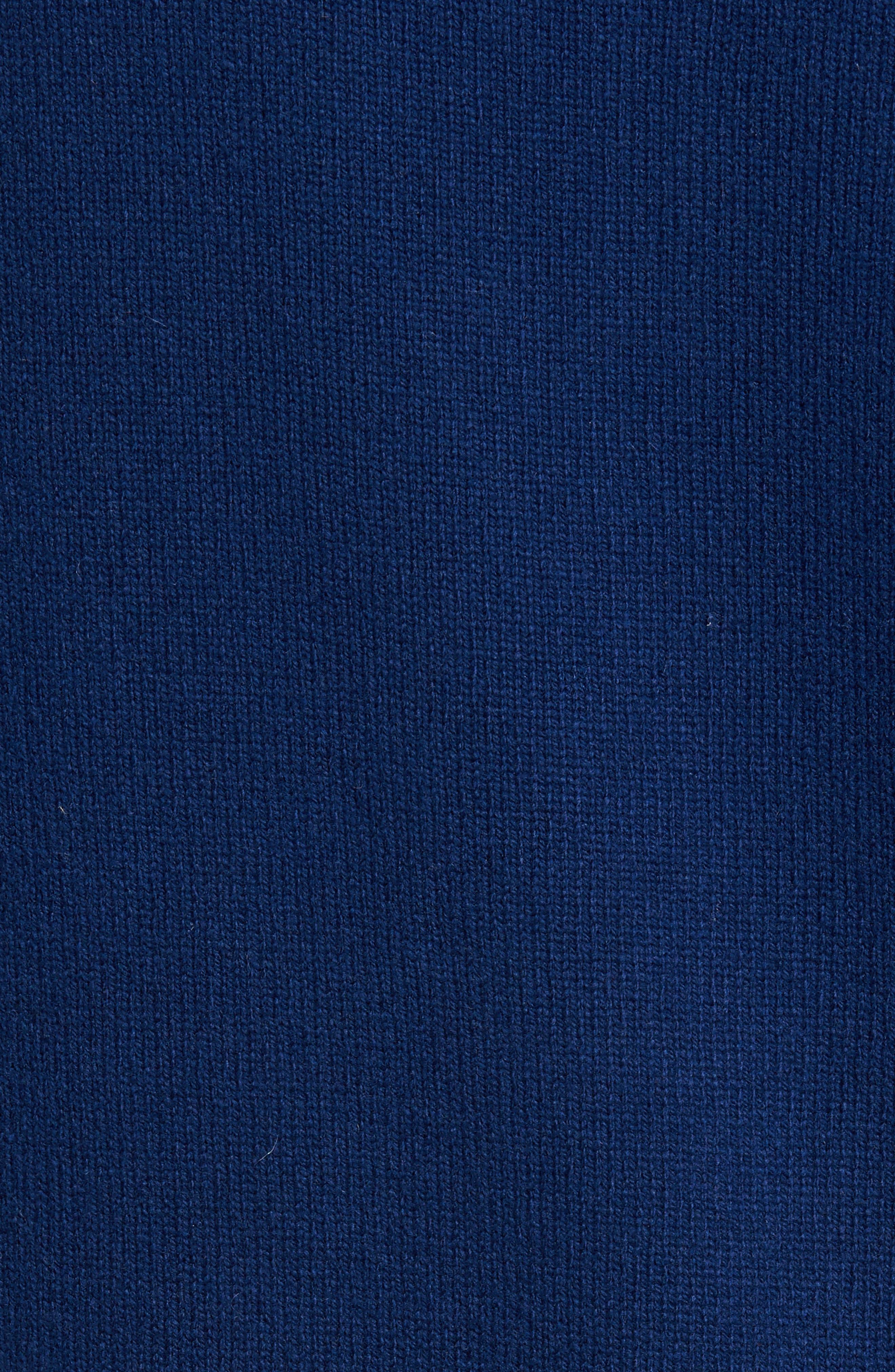 Henley Sweater,                             Alternate thumbnail 5, color,                             Atlantic Blue